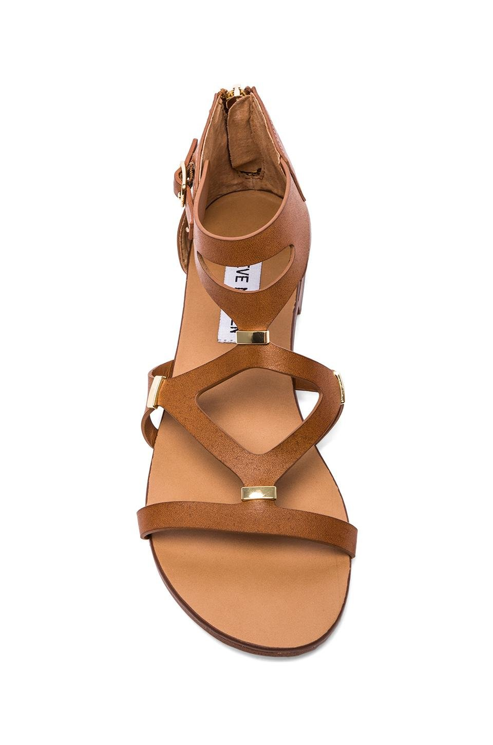 c2052fa37bf Lyst - Steve Madden Comma Sandal in Brown