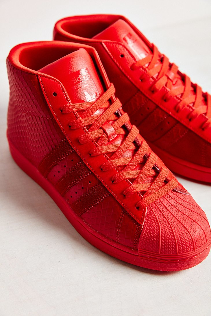 45fab3ed1f24 ... top 12632 470ef good lyst adidas mono pro model sneaker in red b950a  a0c22 ...