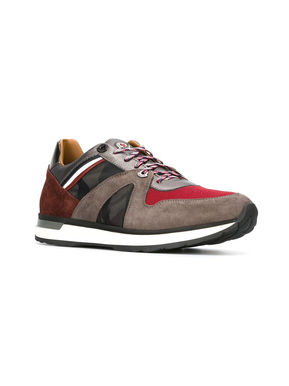 moncler montego sneakers in multicolor for
