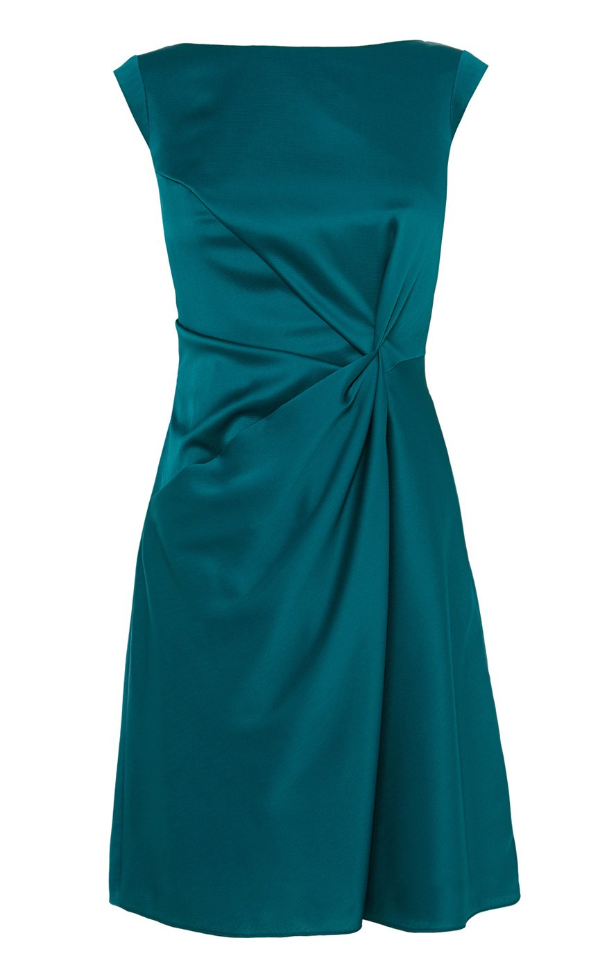 Lyst - Karen Millen Monochrome Shift Dress in Blue