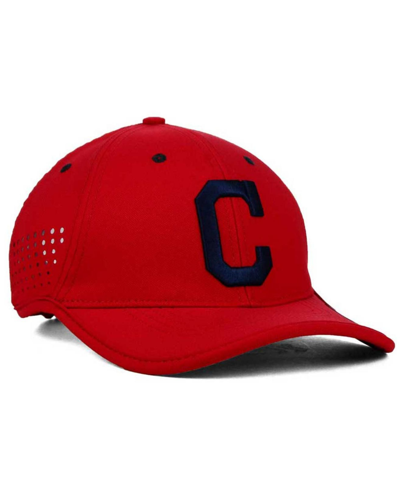 1c96dd73411 ... where to buy lyst nike cleveland indians vapor swoosh adjustable cap in  red for men ee19d