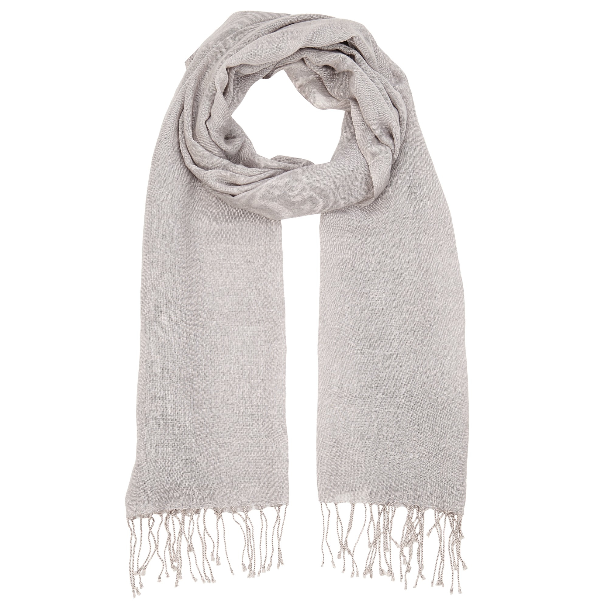 lewis wool mix occasion scarf in grey lyst