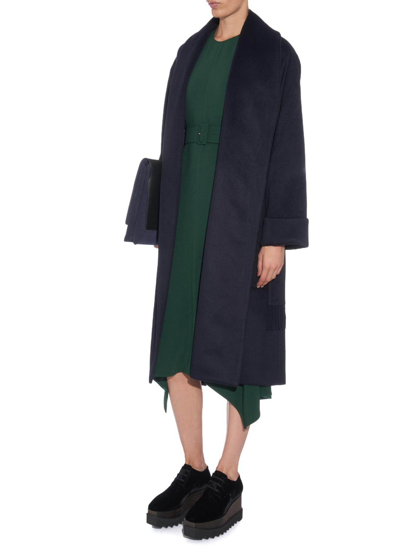 Lyst Stella Mccartney Elyse Lace Up Platform Shoes In Black