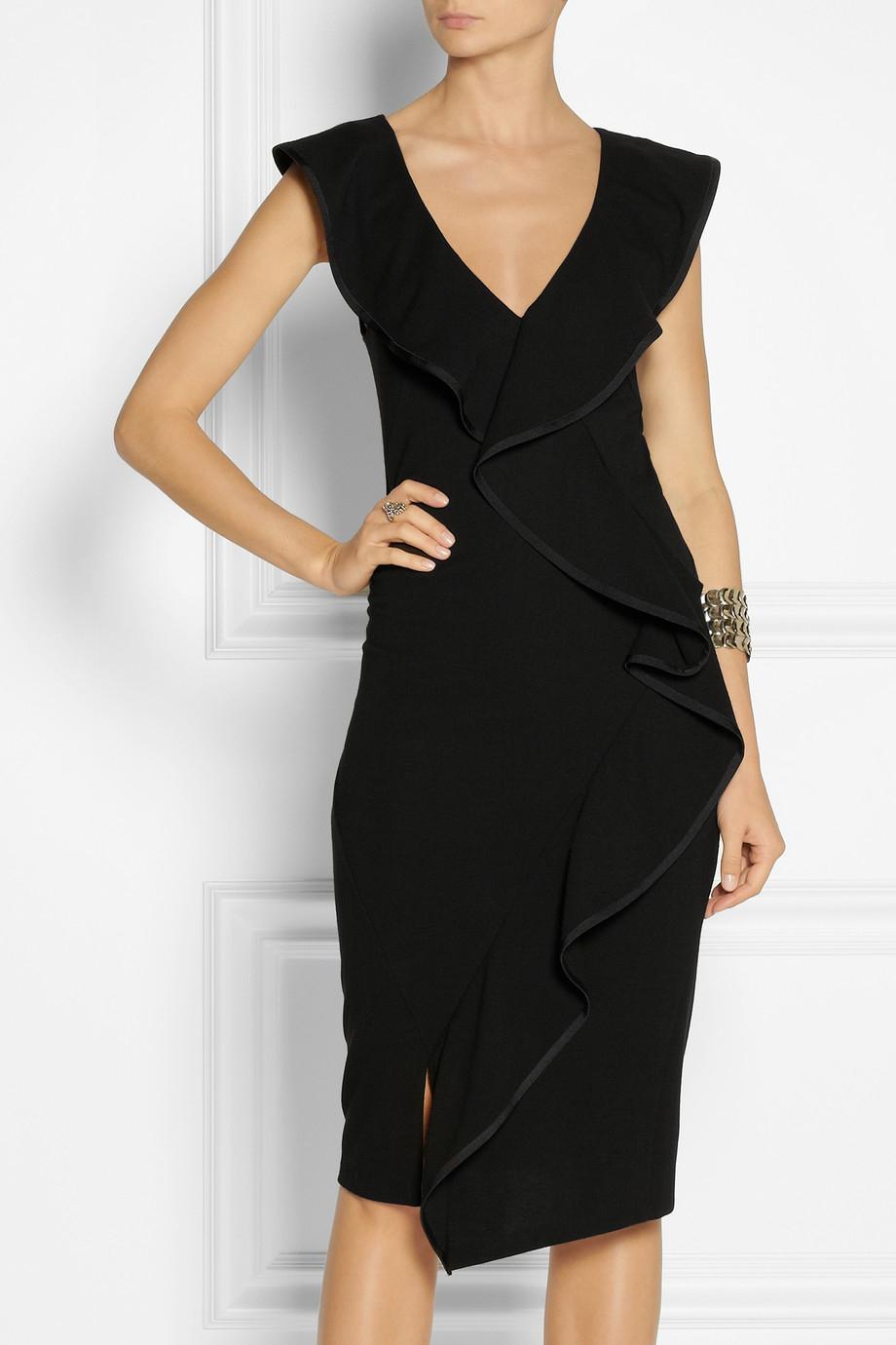 Black modern dress - Gallery