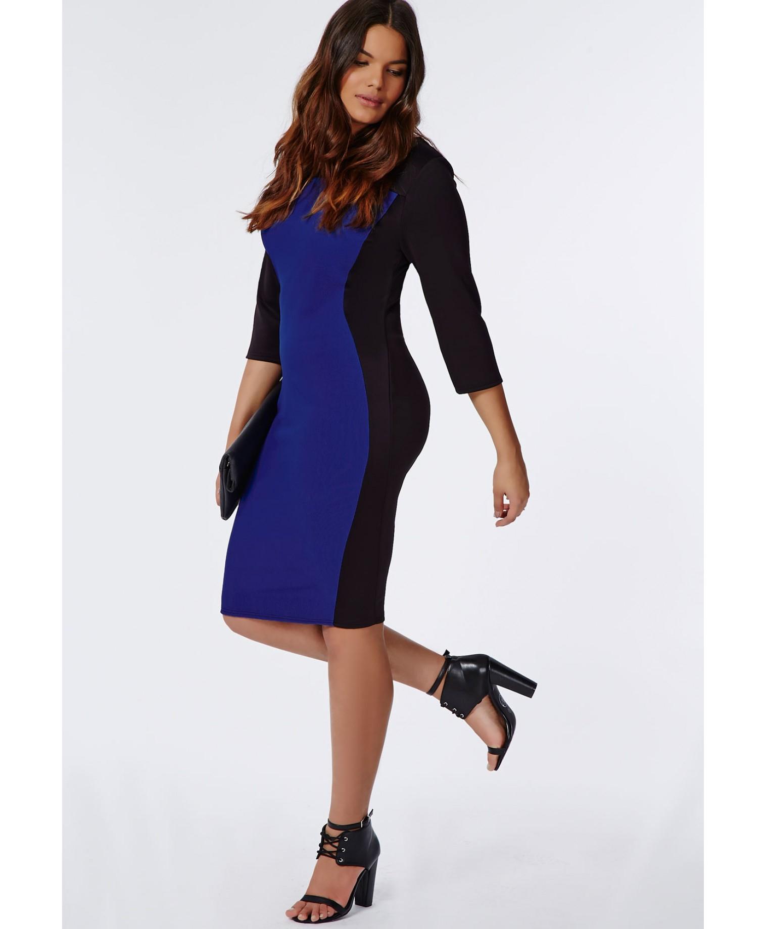 plus size illusion dress - gaussianblur