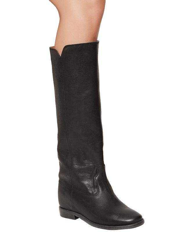 Isabel Marant Dinzi Leather Boots