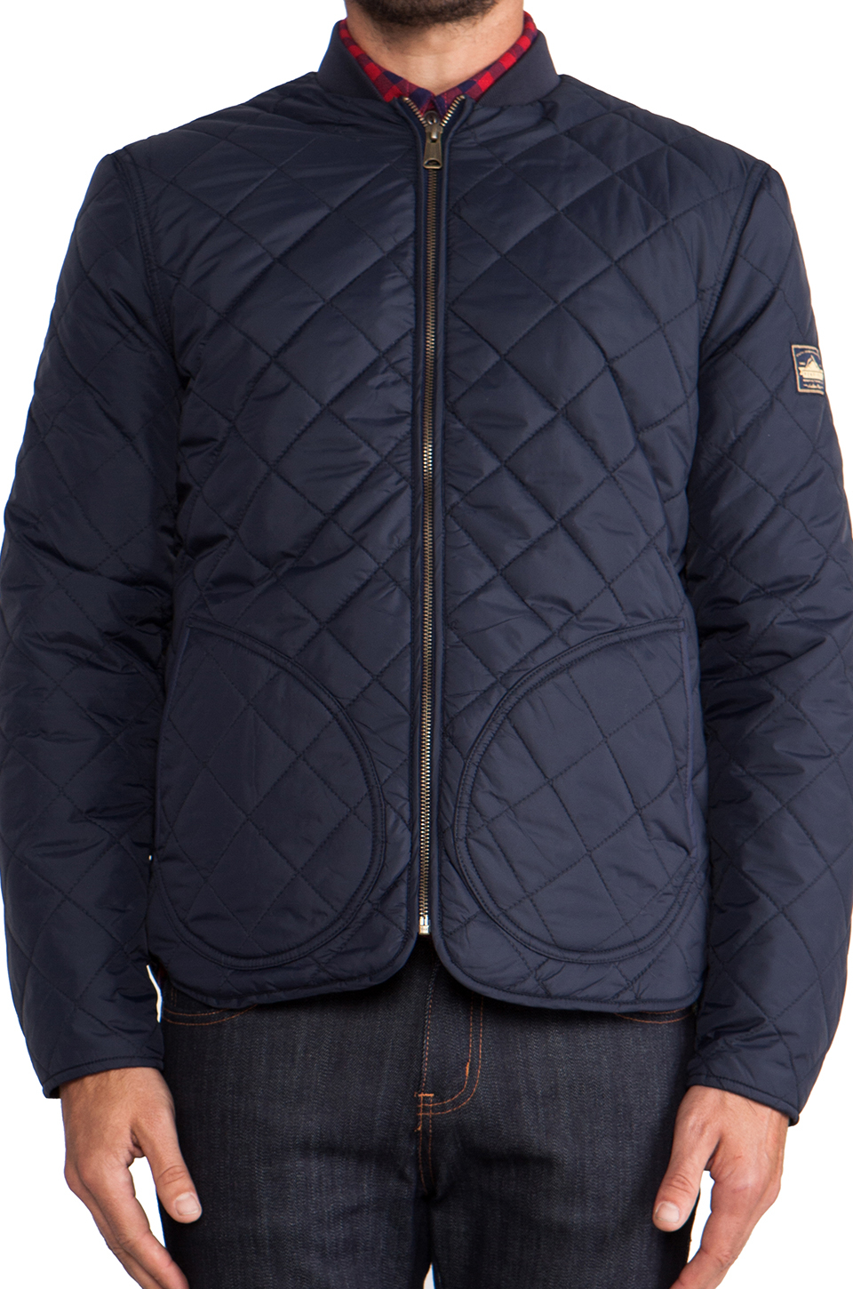 landrum men Penfield landrum quilted bomber jacket navy size men's s   clothing, shoes & accessories, men's clothing, coats & jackets   ebay.
