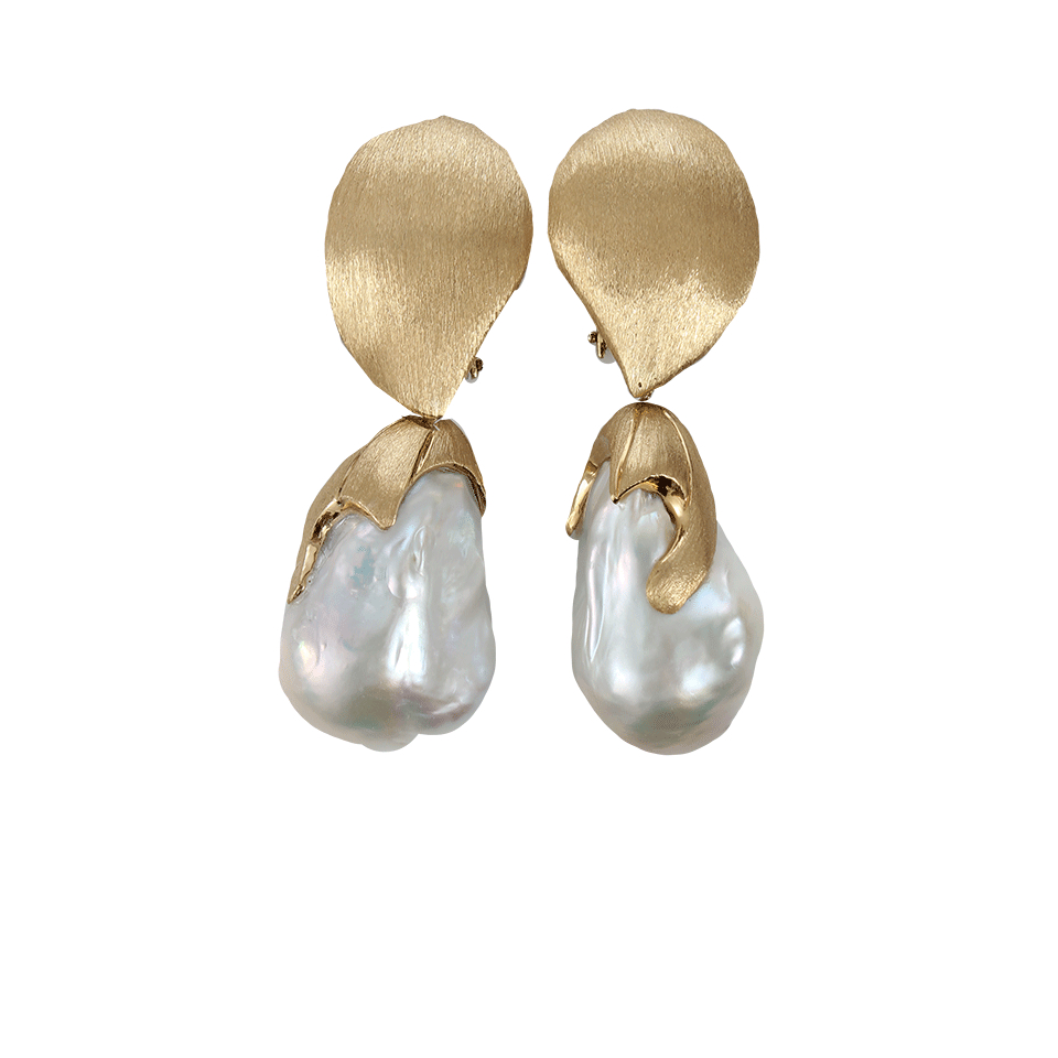 pearl earrings freshwater stud white wg sizes metallic