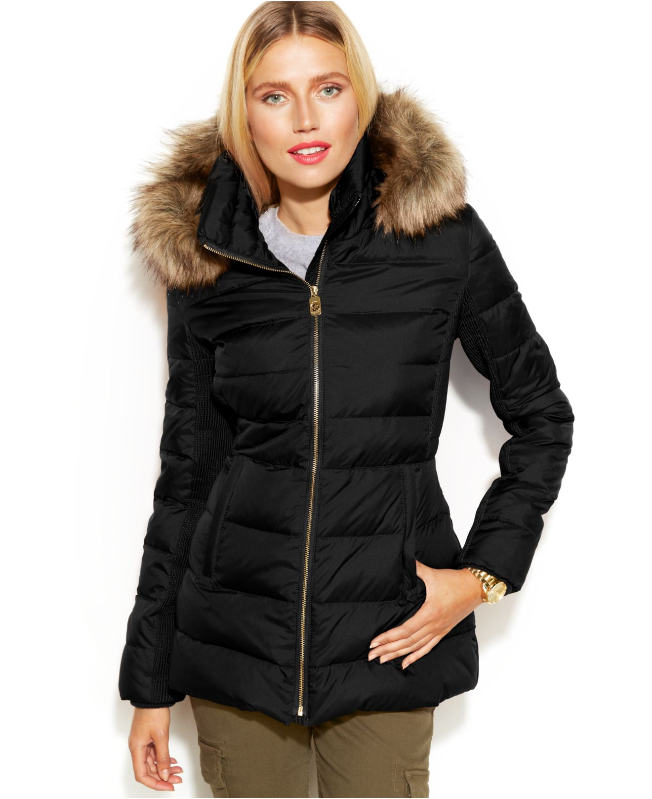 Down Coat Fur Down Coat
