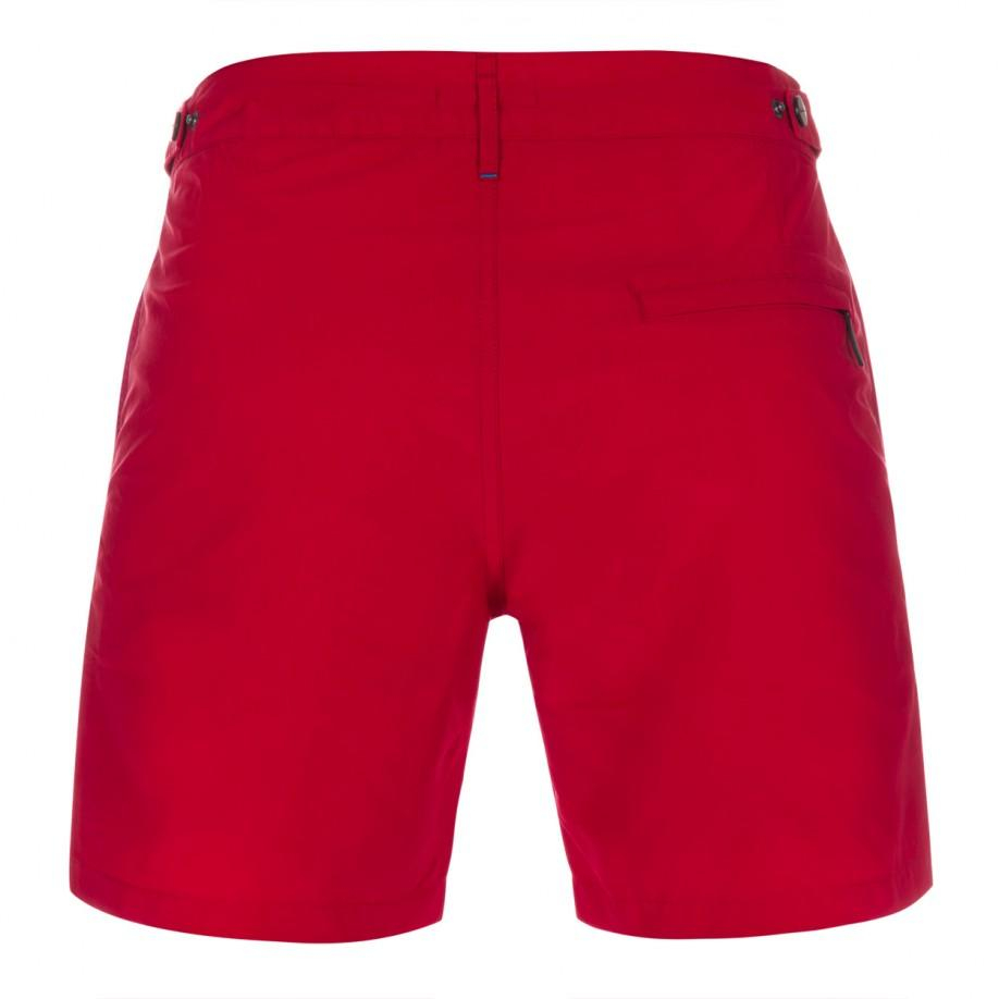 Paul smith long tailored board shorts in red for men lyst