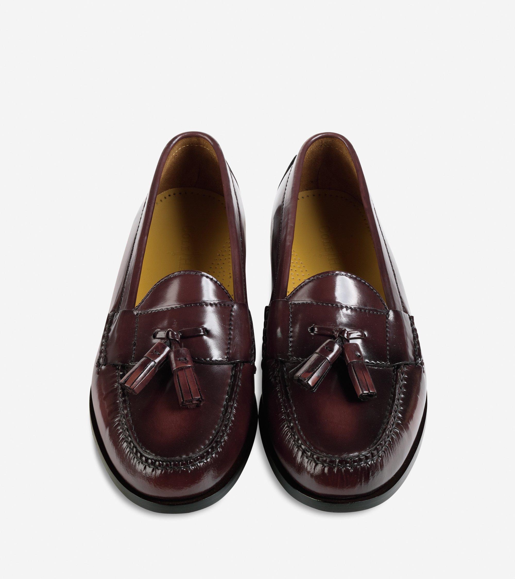 Cole Haan Pinch Tassel Loafer In Brown For Men Lyst