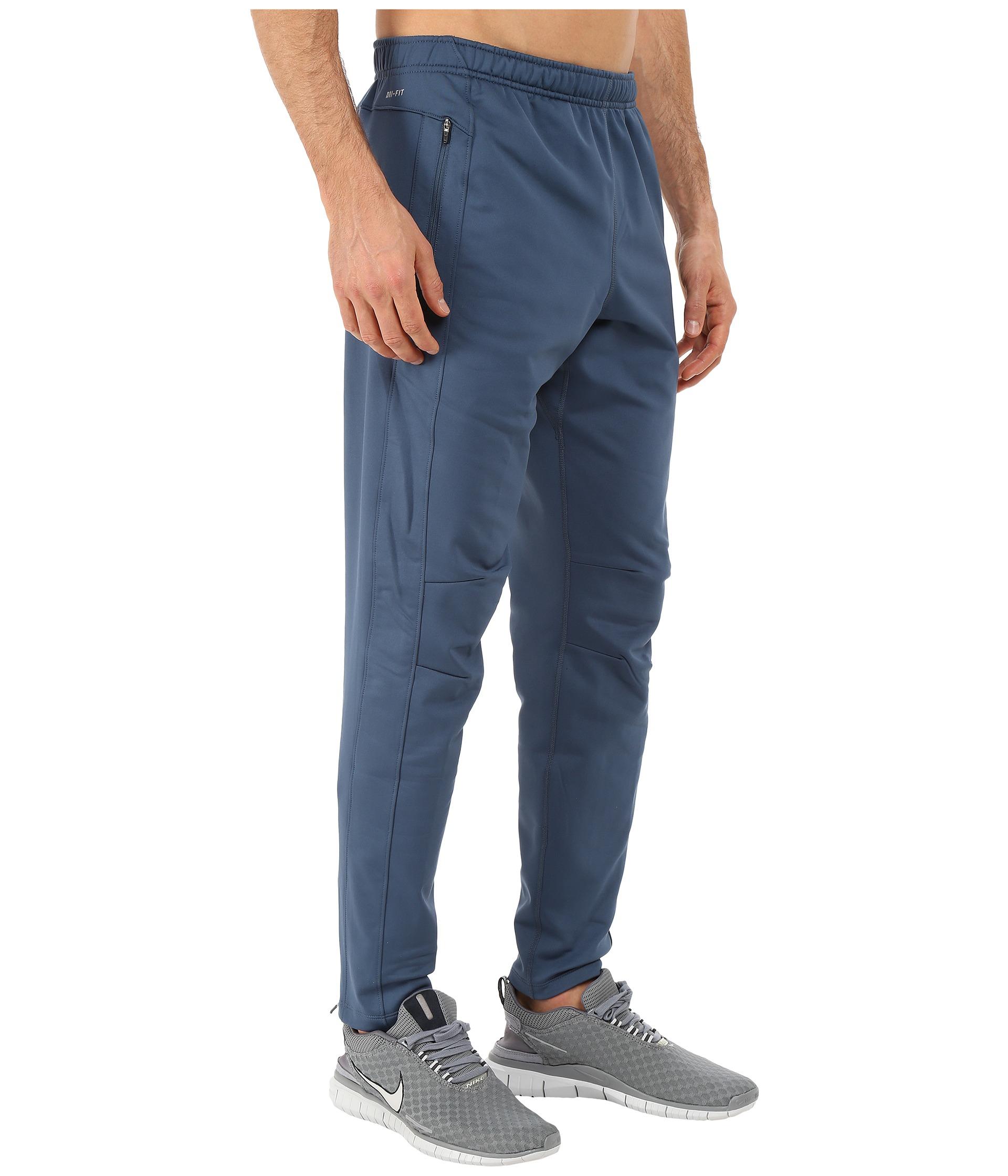 Nike Dri-fit™ Thermal Pants in Blue for Men   Lyst