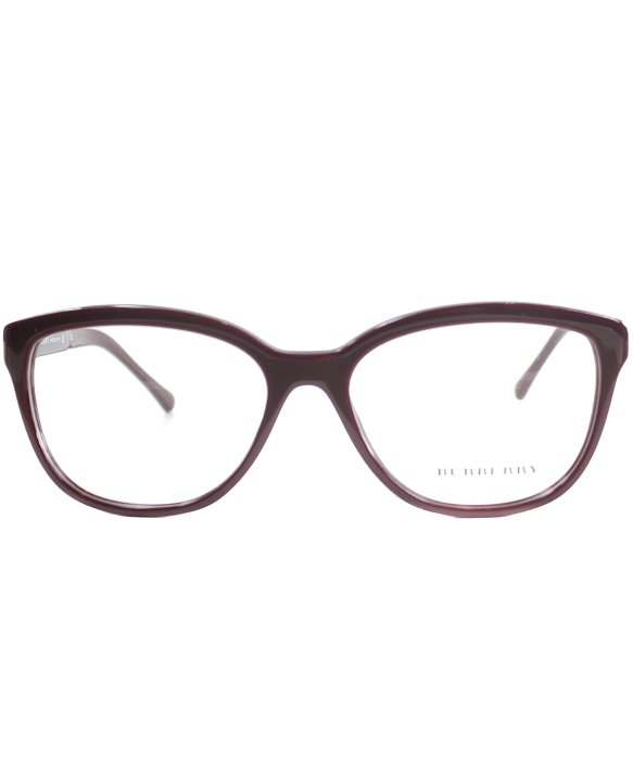 Burberry Be 2166 3403 Bordeaux Burgundy Cat-eye Plastic ...