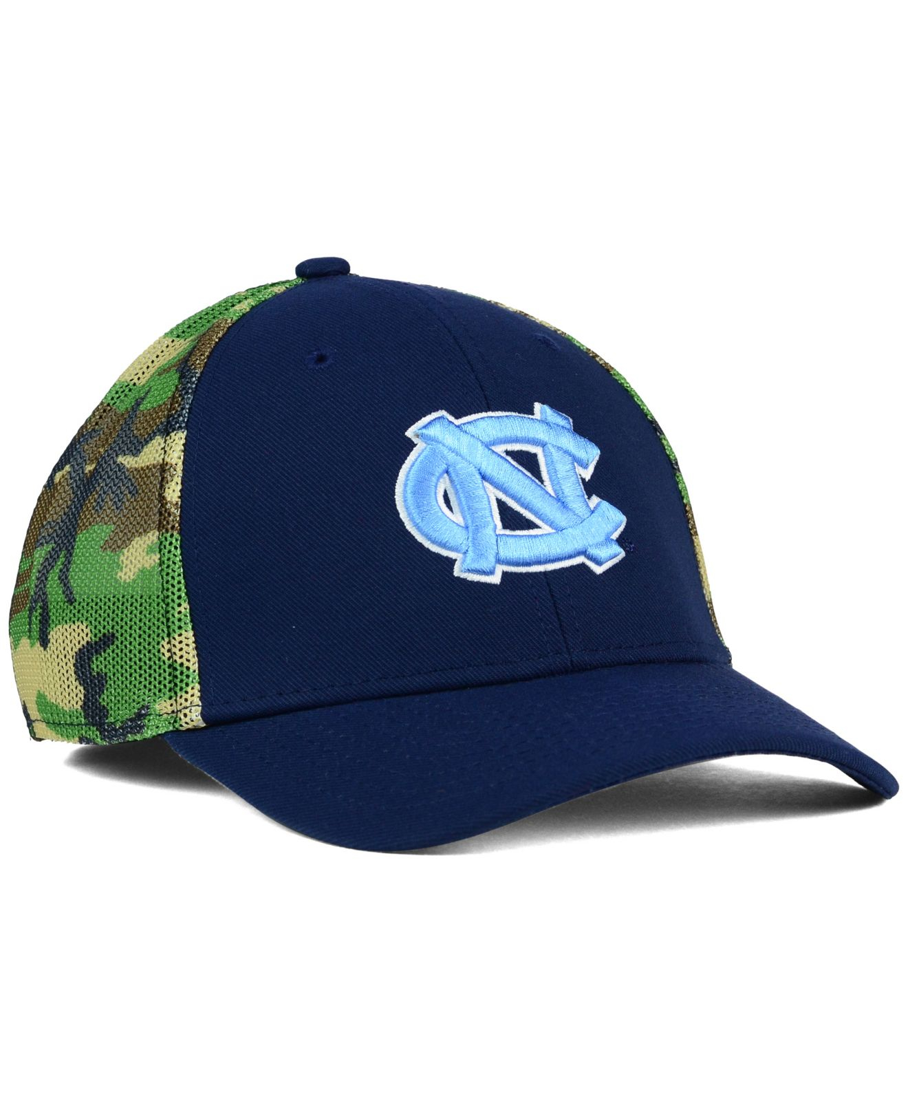 cheaper 95269 bd2d8 ... sweden lyst nike north carolina tar heels camo hook swooshflex cap in  f4f35 fe491