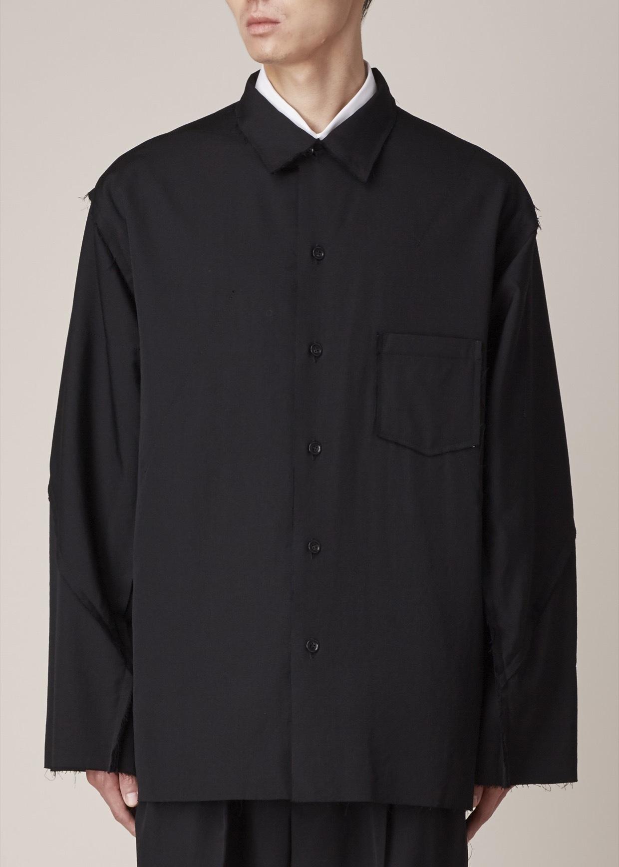 Yohji yamamoto Black Straight Jacket in Black for Men | Lyst