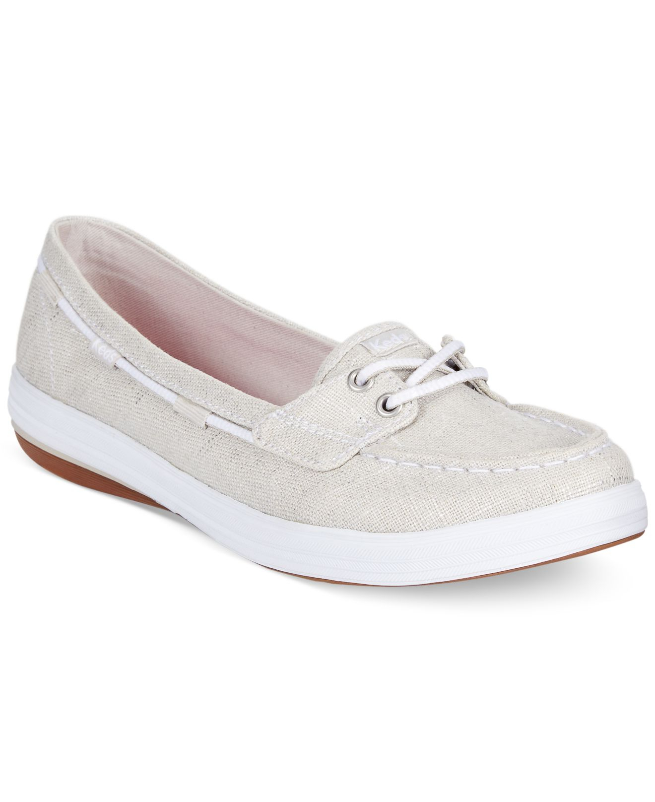 9ee8f8e3df Keds Women's Glimmer Boat Shoes in Metallic - Lyst