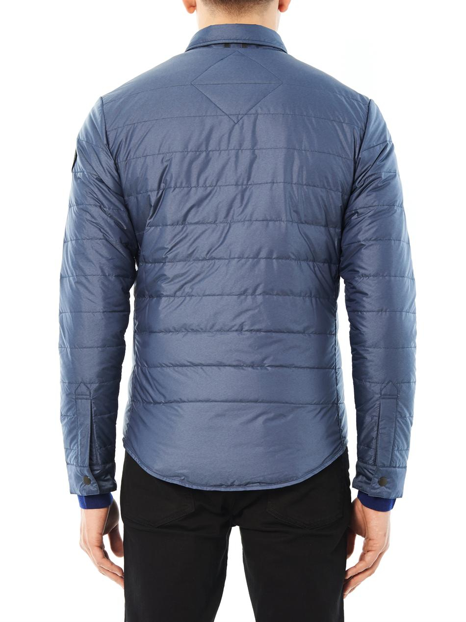 Canada Goose mens online fake - Canada goose Branta Roxton Lightweight Down Jacket in Blue for Men ...
