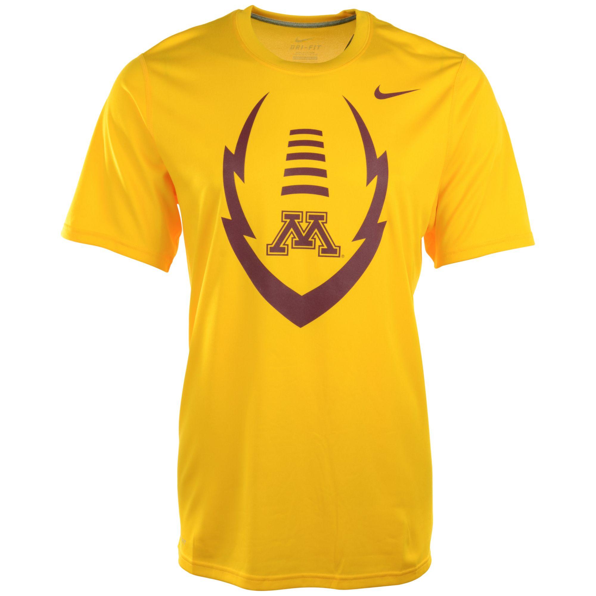 Nike Mens Minnesota Golden Gophers Legend Icon Tshirt in