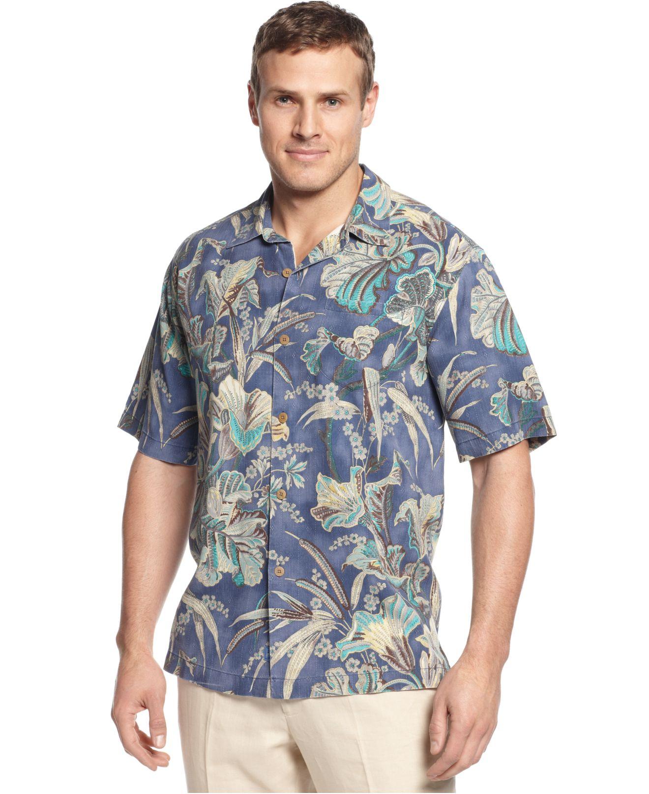 Lyst Tommy Bahama Big And Tall Silk Botanica Bay Shirt
