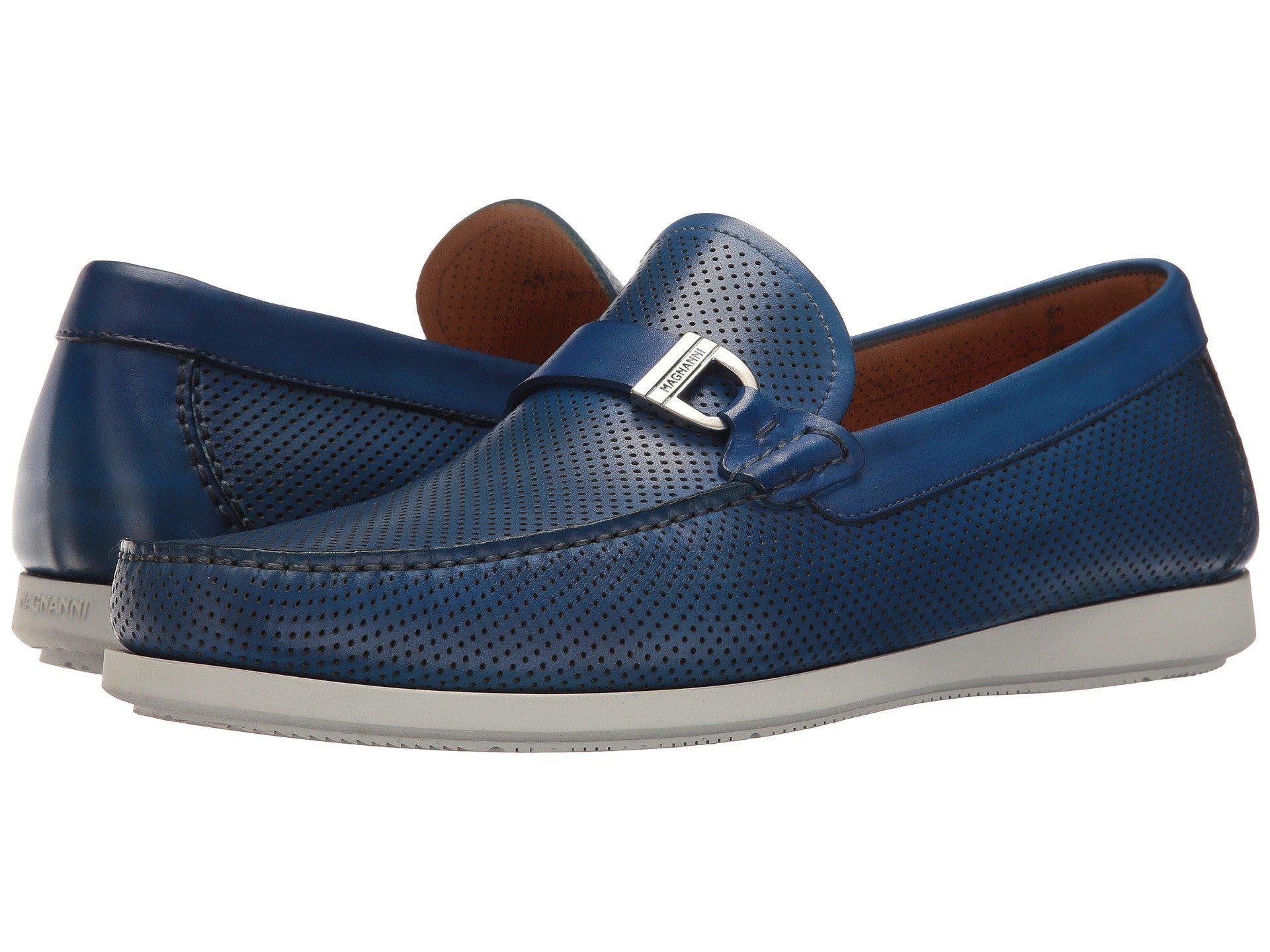 Magnanni. Men's Blue Seca Perf