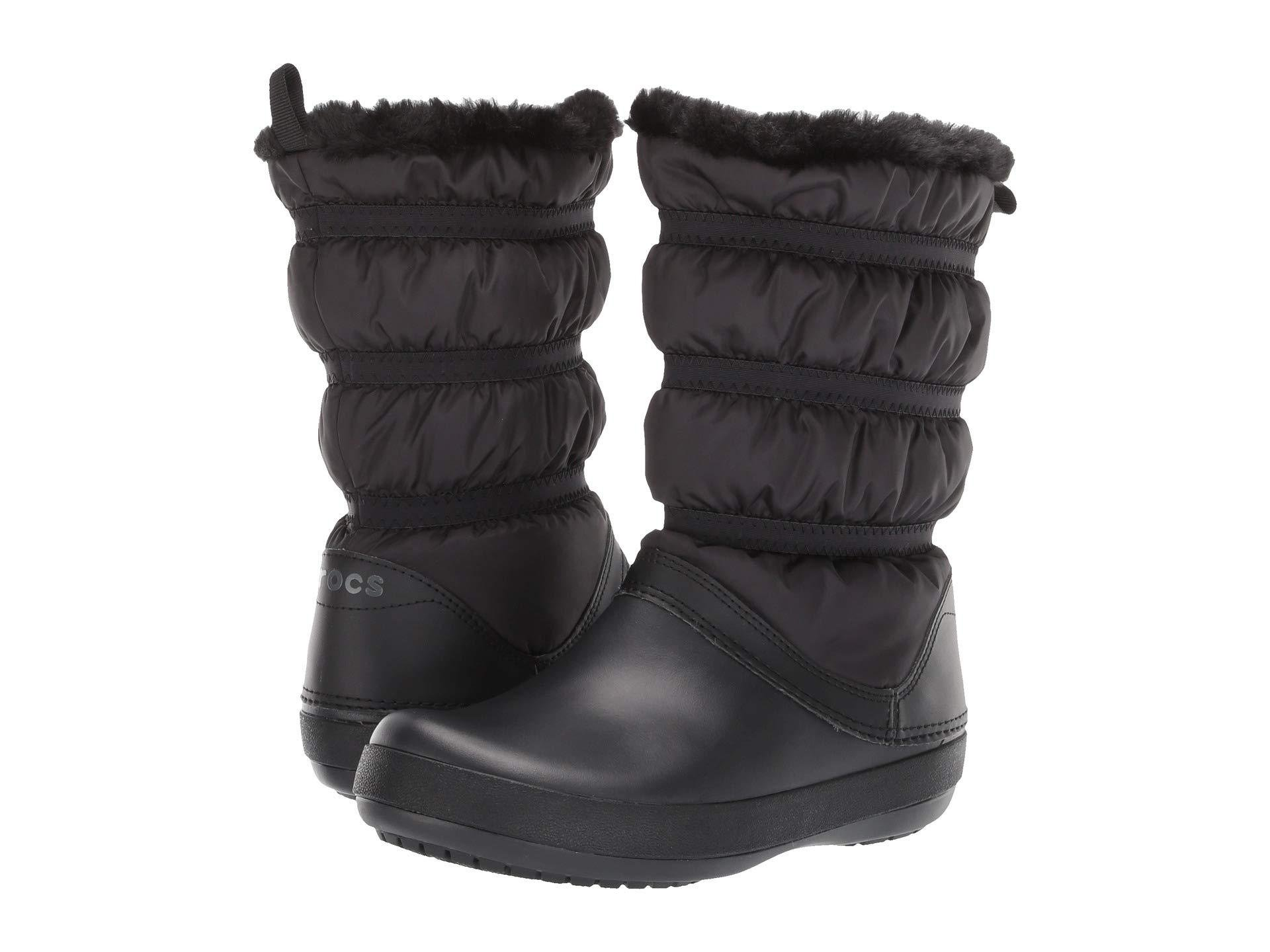 3064ec9681426 Lyst - Crocs™ Crocband Winter Boot in Black - Save 38%