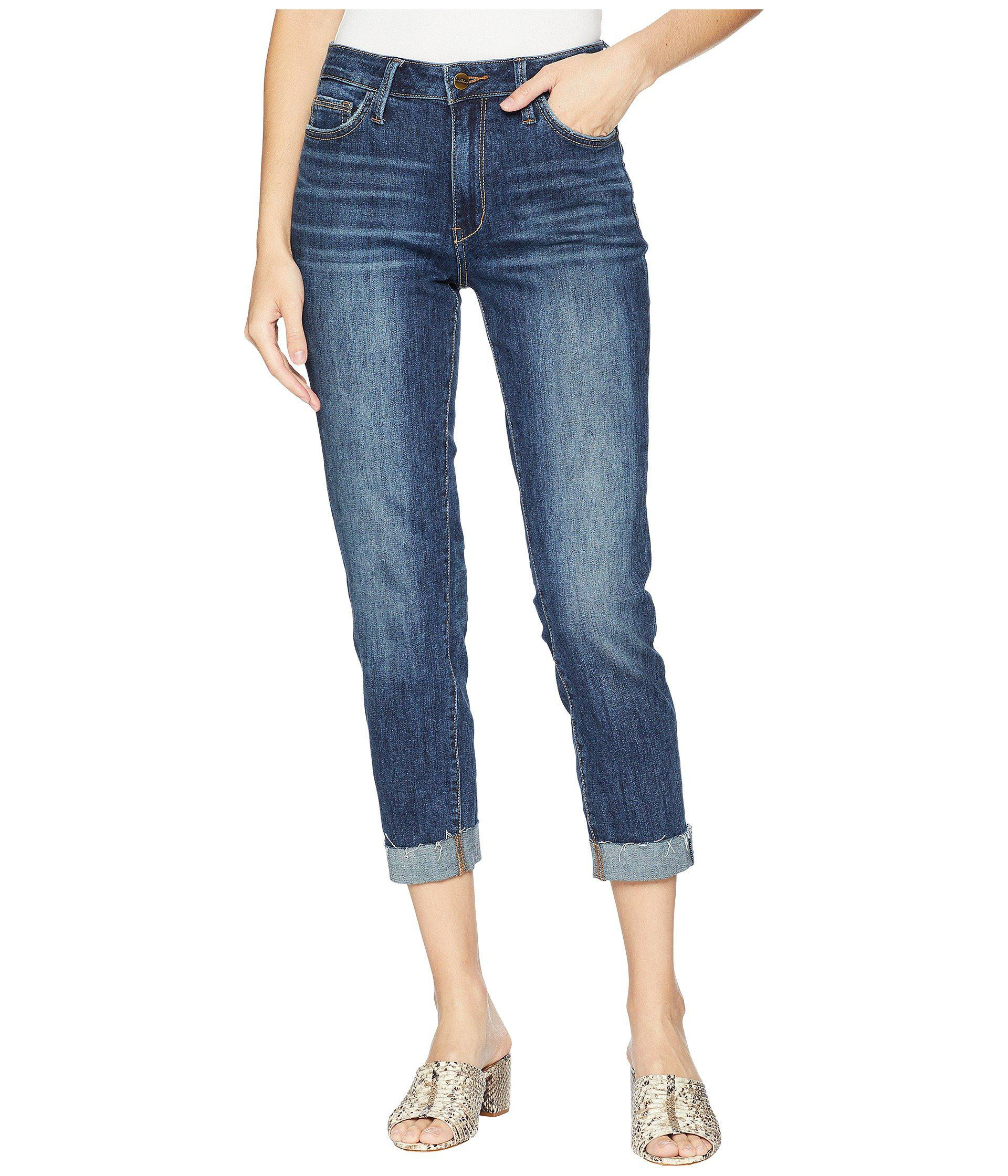 6f86030bf Lyst - Sam Edelman The Mary Jane High-rise Straight Crop In Rae in ...