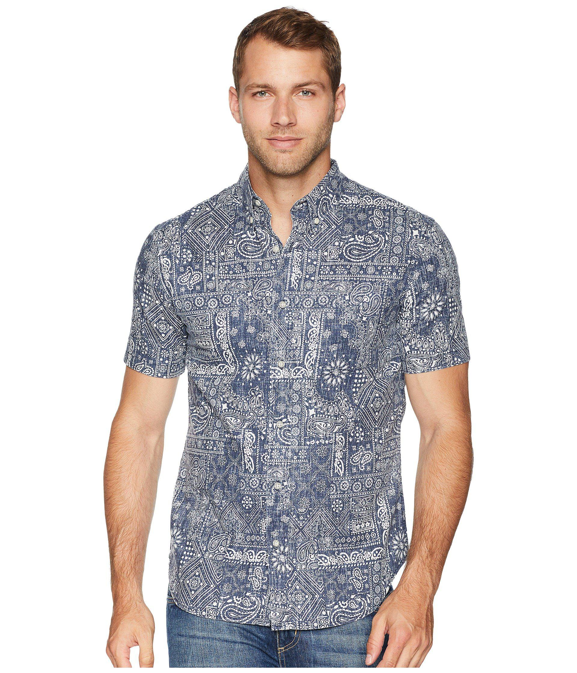 36a4cf0a9ed0 Lyst - Reyn Spooner Aloha Bandana Tailored Fit Hawaiian Shirt in ...