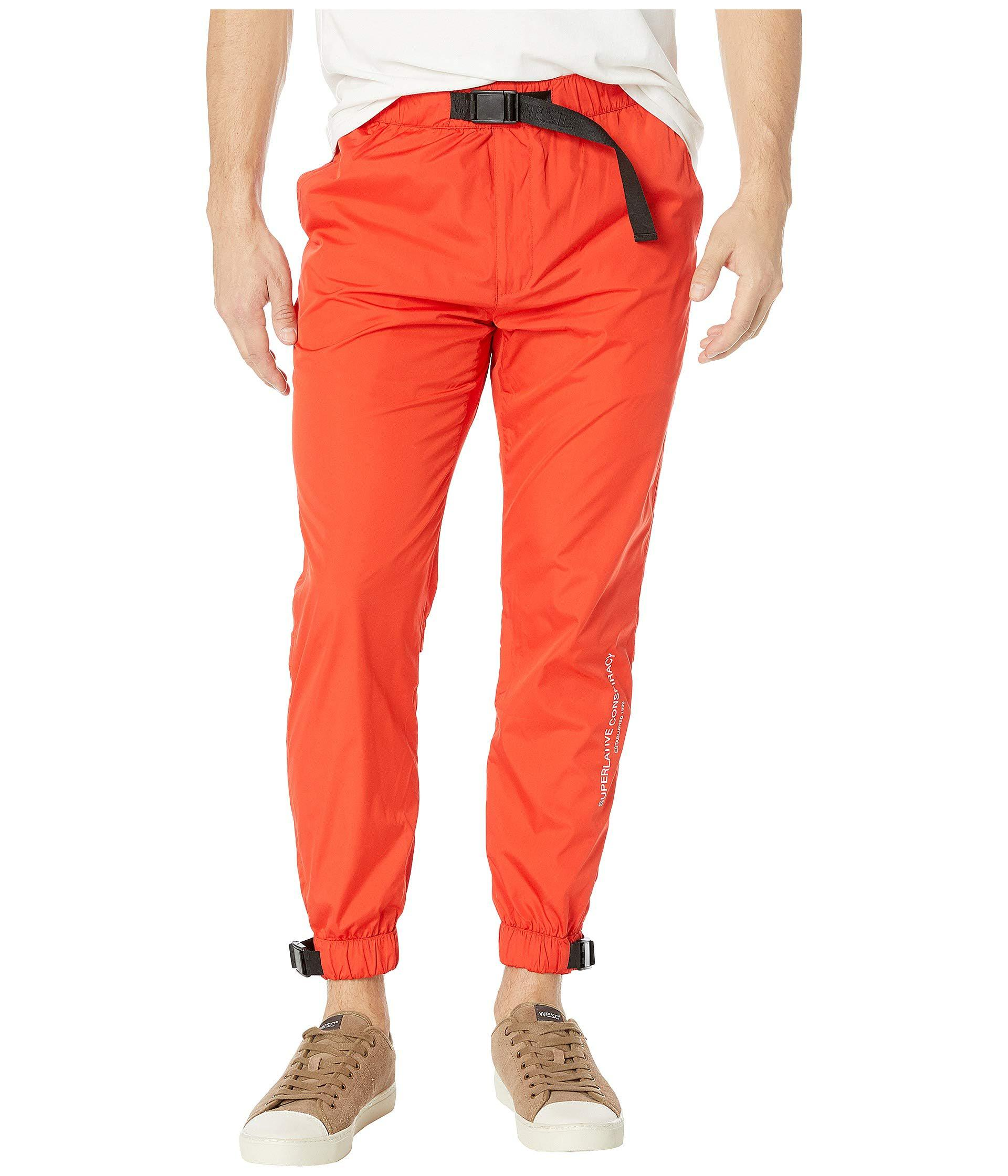 6189ac6bb64 Lyst - Wesc The Wind Jogger in Red for Men - Save 61%