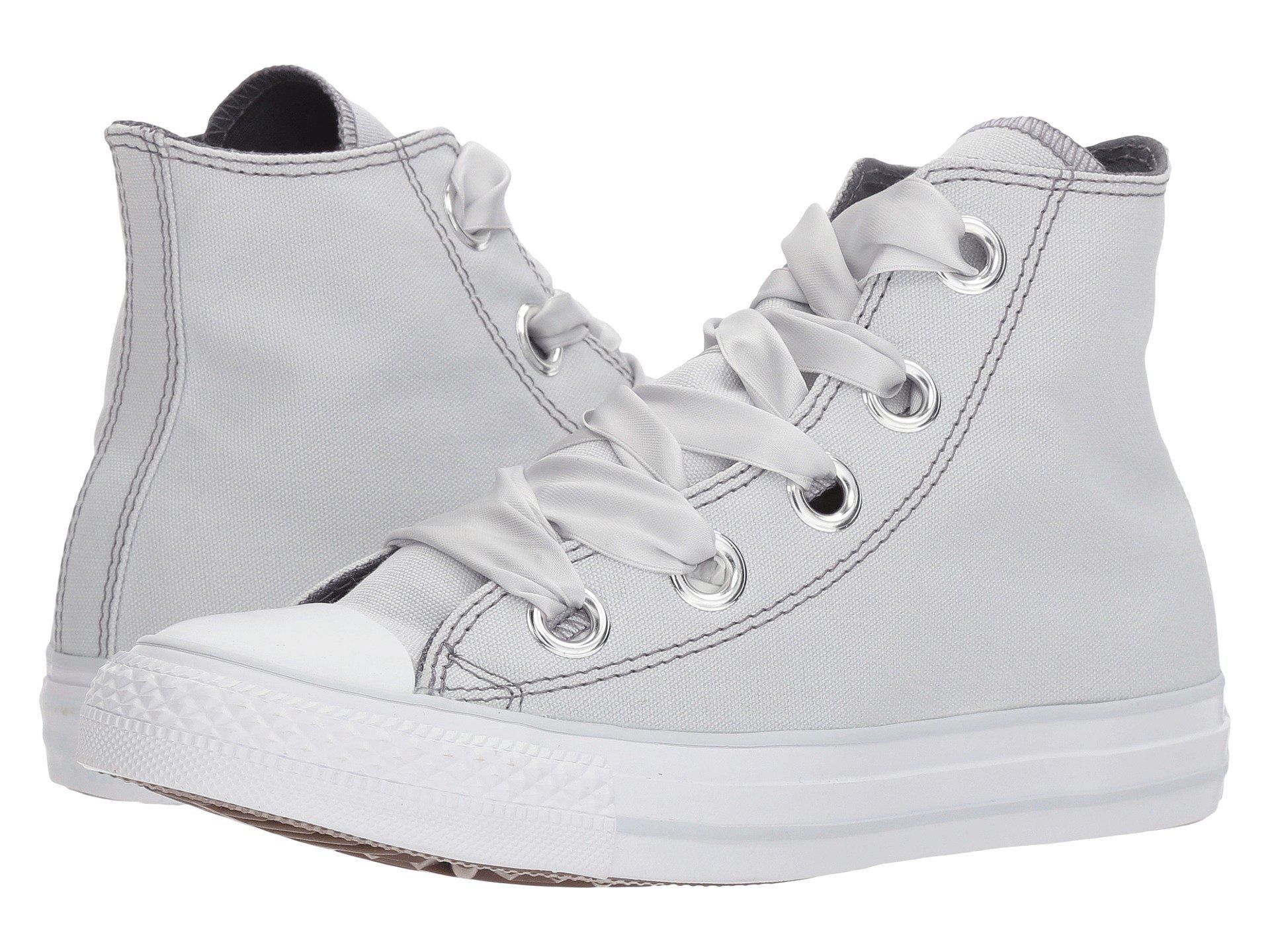 126f844ac89e Lyst - Converse Chuck Taylor® All Star Pastel Canvas Big Eyelet Hi ...