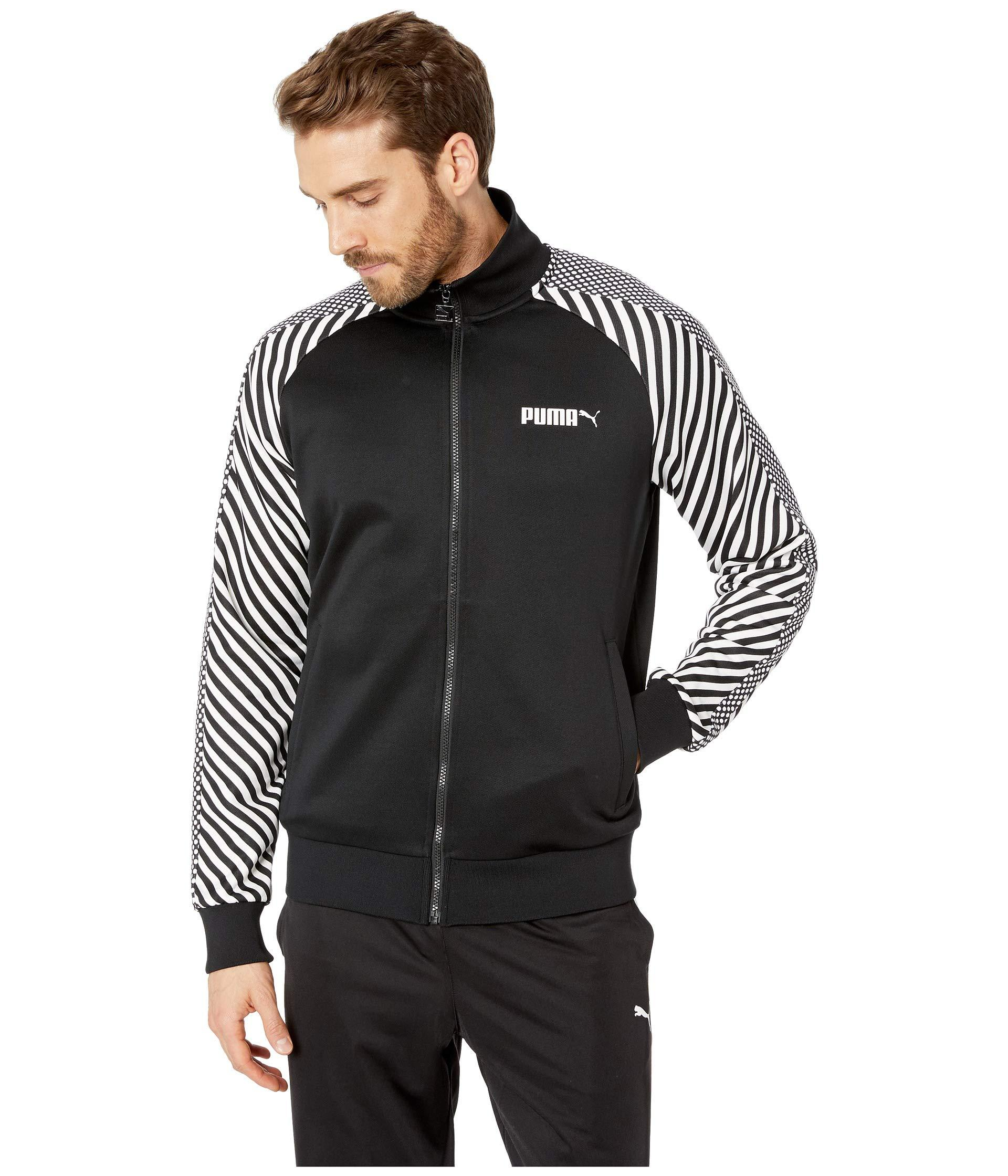8c1cf4df888c Lyst - PUMA T7 Pop Track Jacket in Black for Men - Save 39%