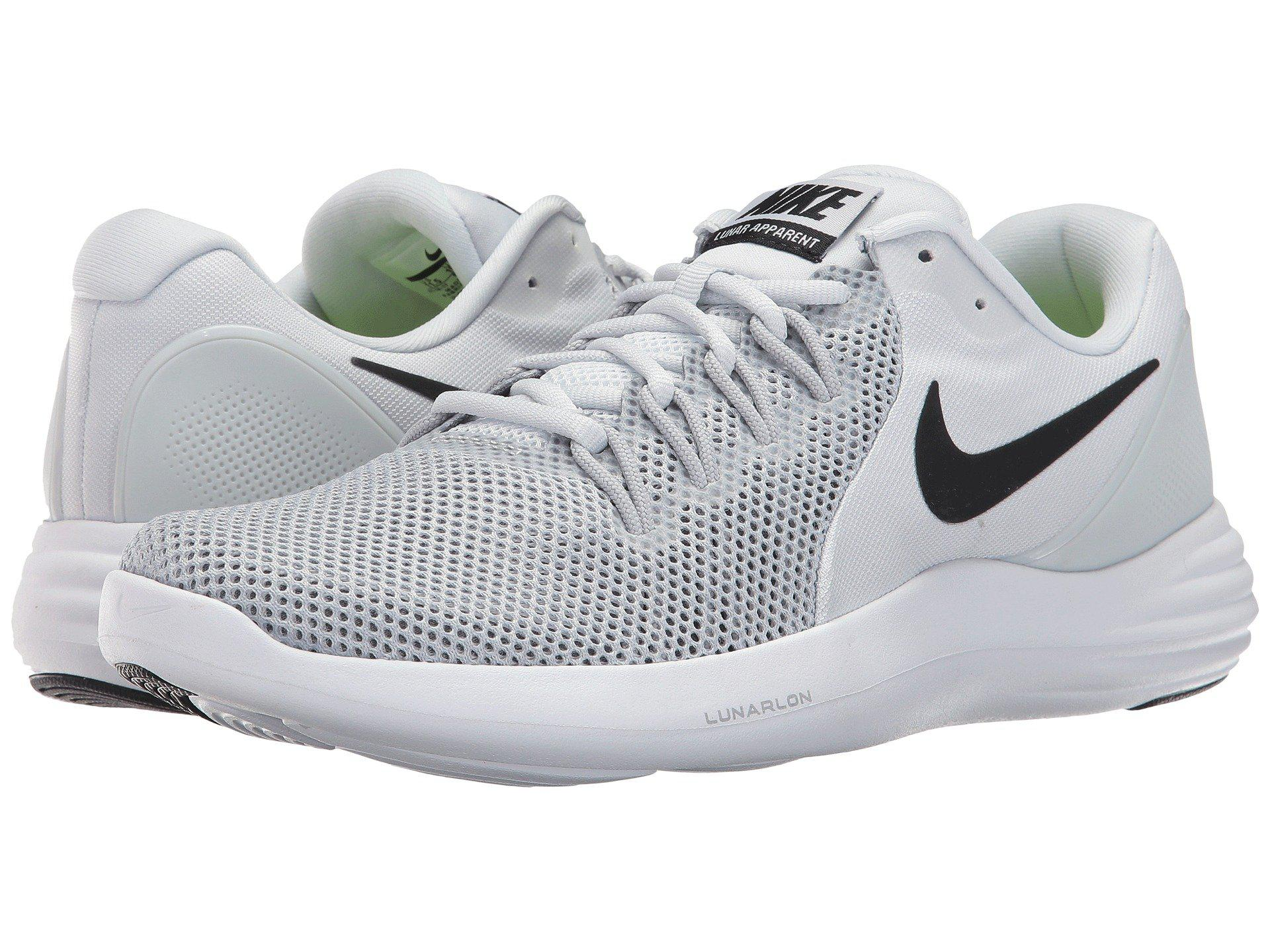 finest selection bb34e 1a50e Lyst - Nike Lunar Apparent in Gray for Men