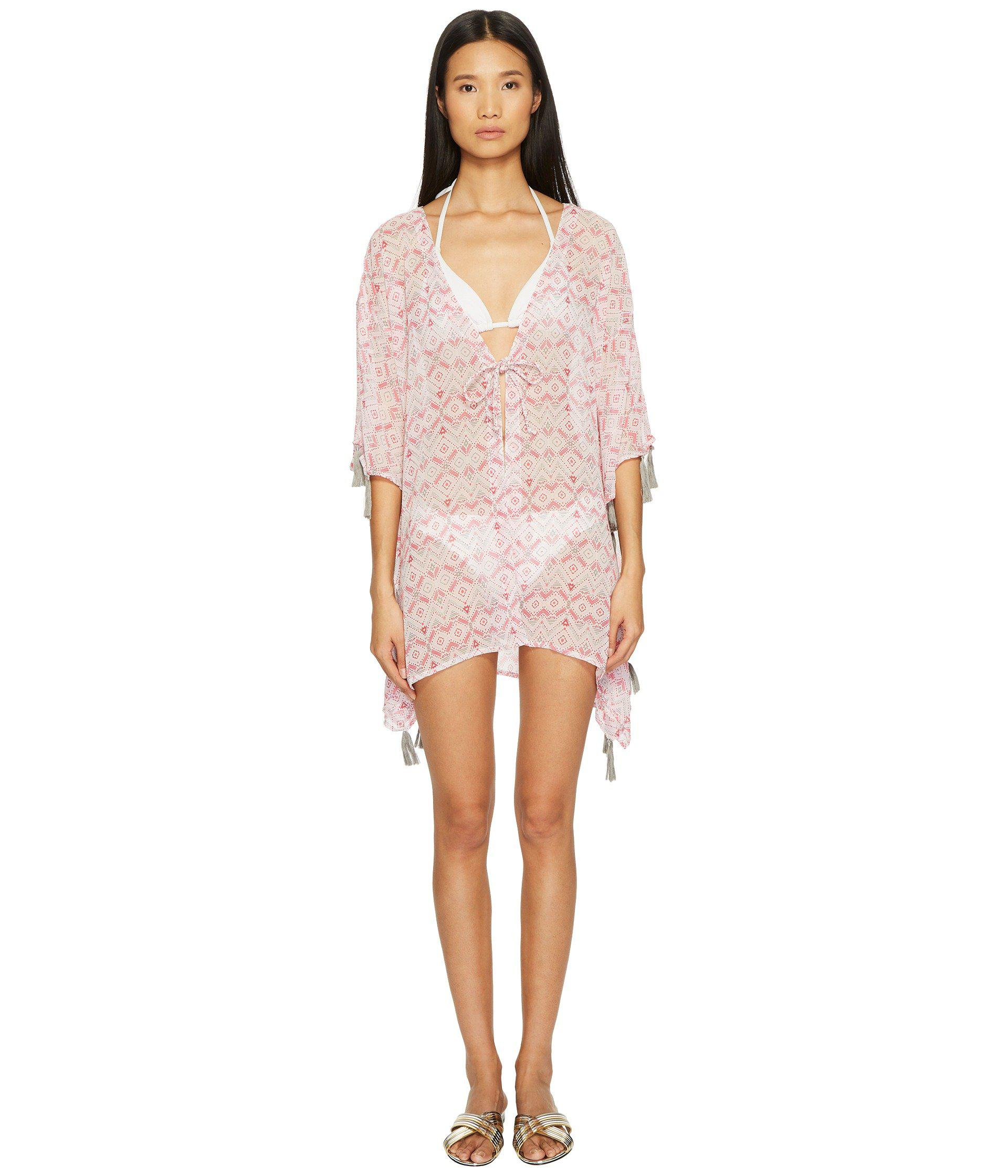 6517cfcecf61e Lyst - Letarte Ombre Beach Shirt Cover-up in Pink - Save 20%
