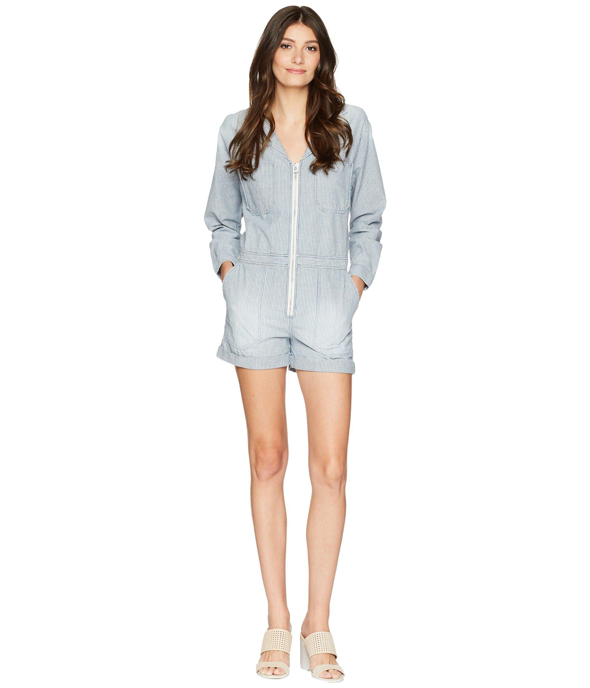 98264d57fc8c Lyst - AG Jeans Rochelle Romper in Blue - Save 62%