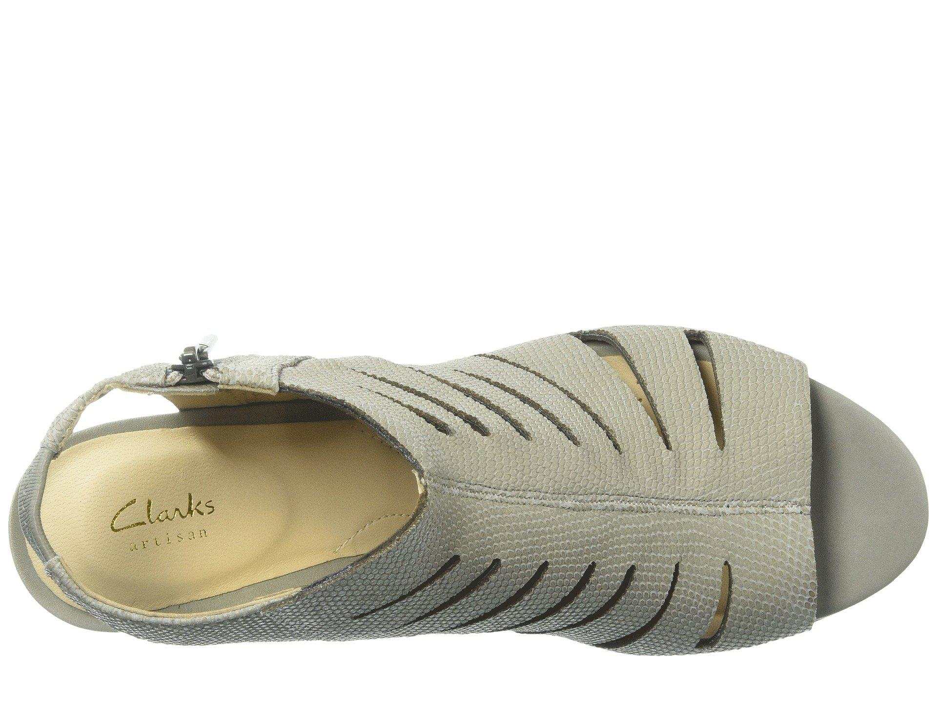 6bf1cd358dc Lyst - Clarks Deloria Ivy in Natural - Save 36.470588235294116%