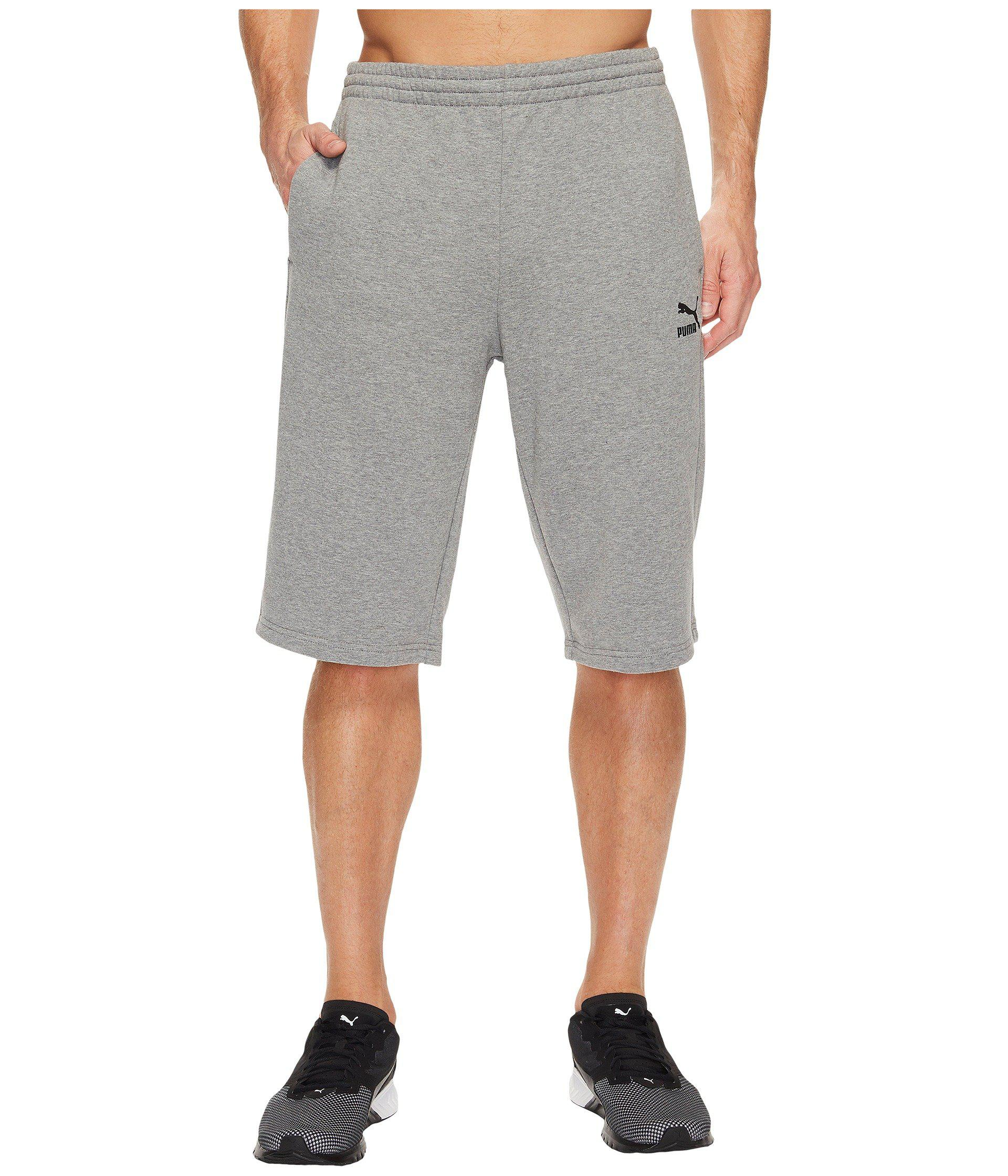 ec9e18fea4 Lyst - PUMA Archive Logo Bermuda Shorts in Gray for Men