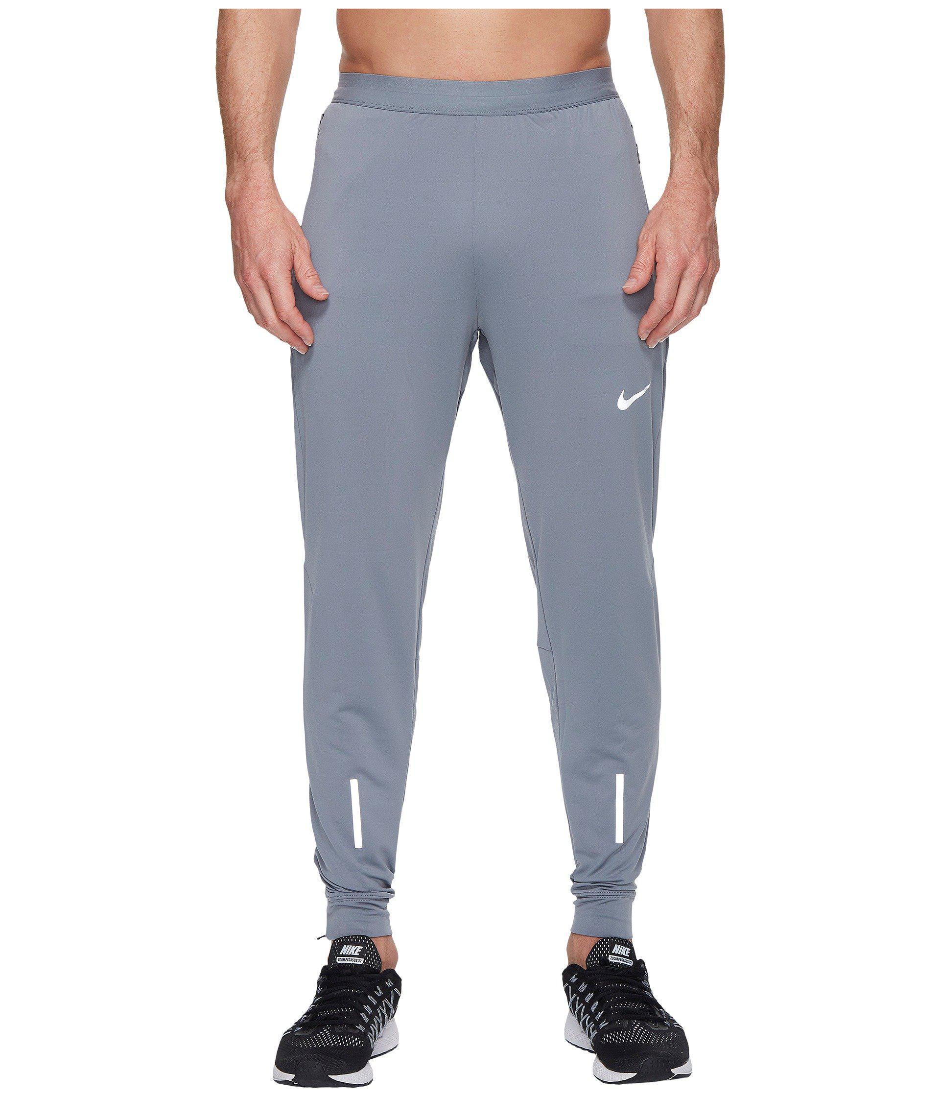 b7b114f2d6cb Lyst - Nike Dry Phenom Running Pant in Gray for Men