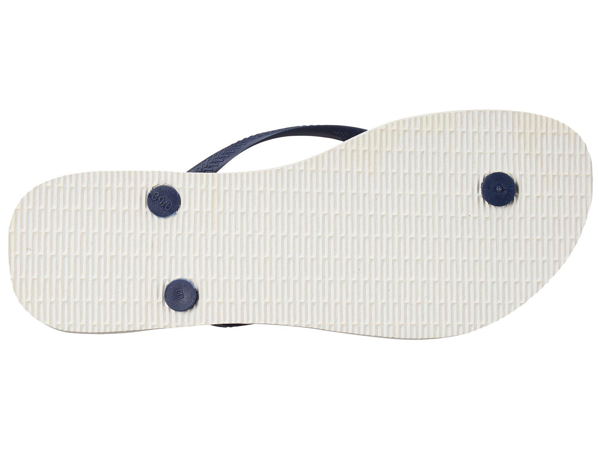 a95647469 Lyst - Havaianas Slim Thematic Flip Flops in Blue - Save 58%