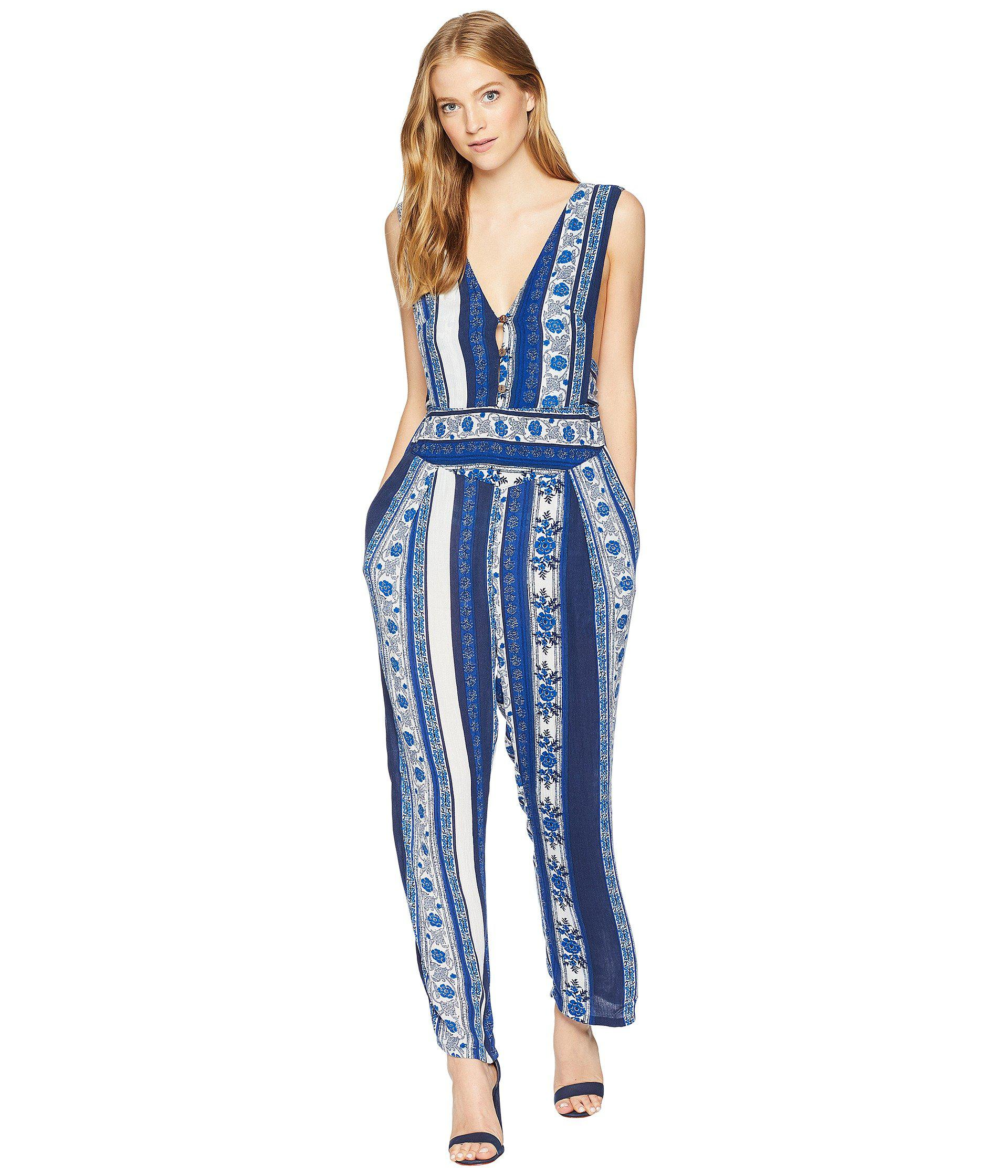 569762440640d Lyst - Free People Pants All Shook Up in Blue - Save 62%