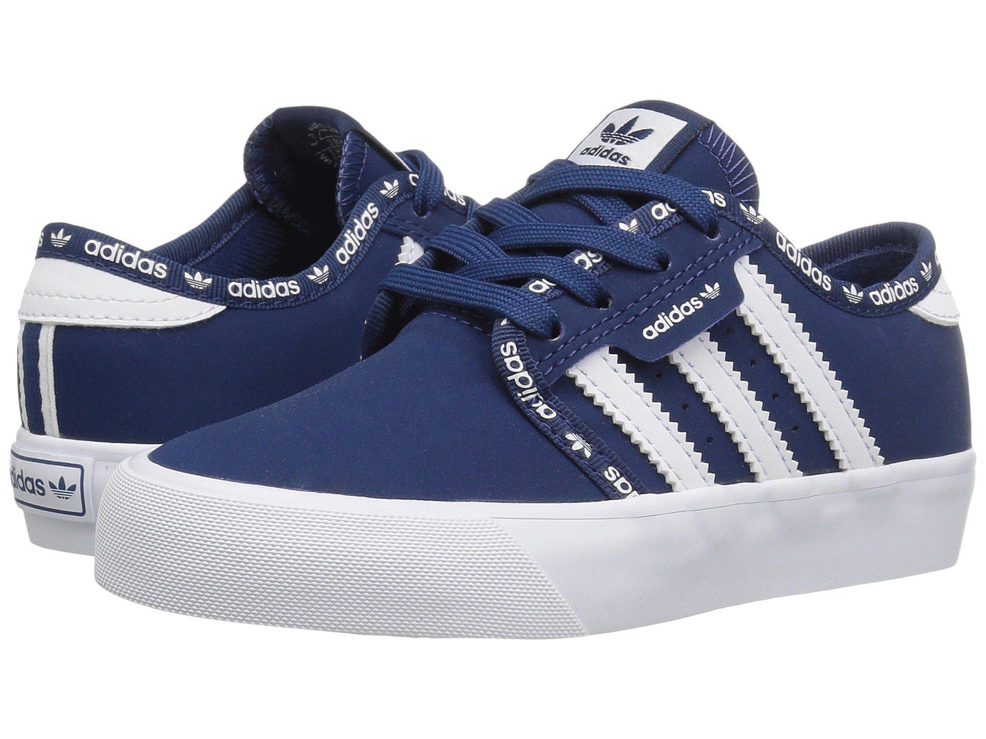 best sneakers 1dcba cdbc5 Lyst - adidas Originals Seeley J (little Kidbig Kid) in Blue