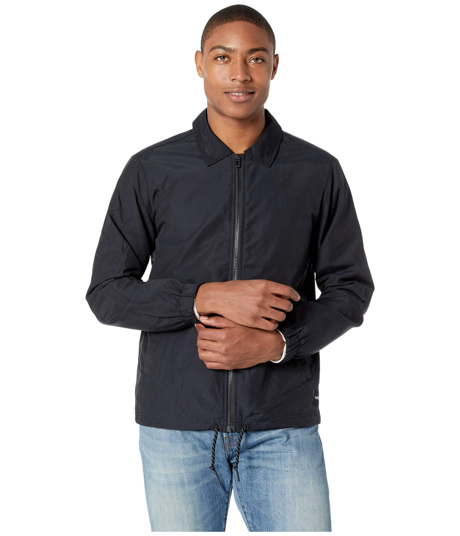 443d894e781 Lyst - Hurley Jacket Of Spades in Black for Men