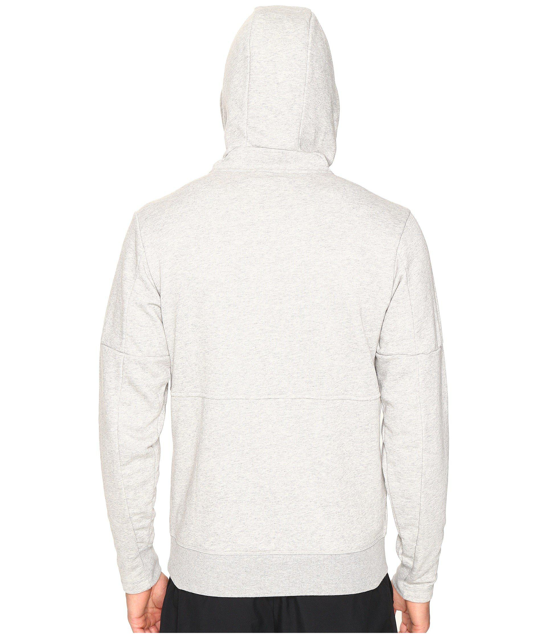 Lyst - Adidas Sport Id French Terry Pullover Hoodie in Gray for Men 23534ab06e43
