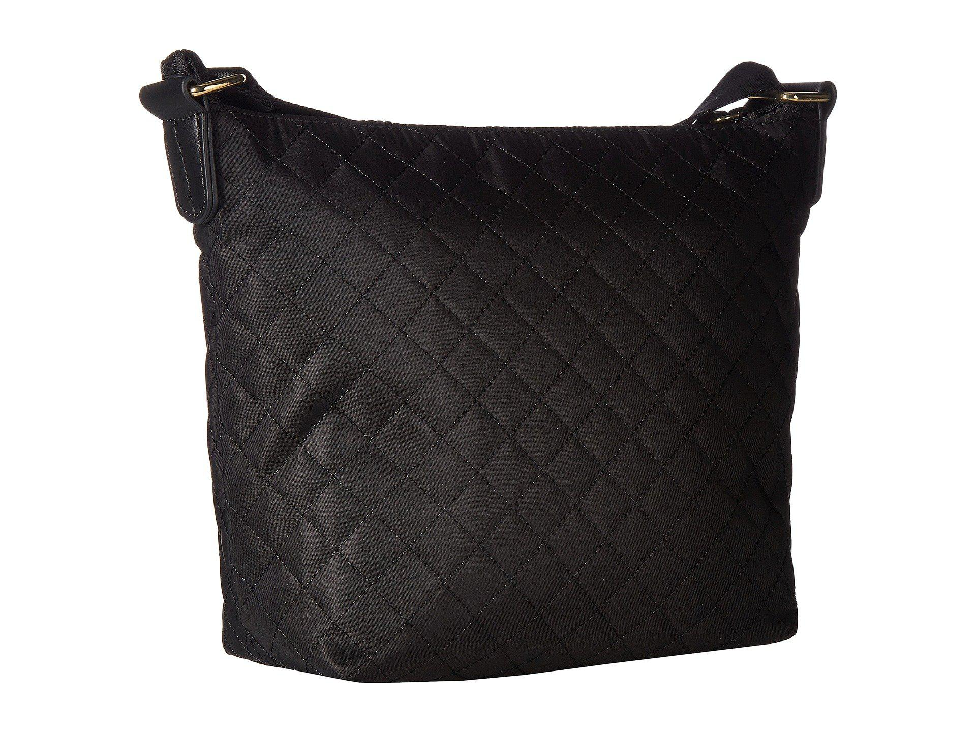aa91e73e984 Lyst - Tommy Hilfiger Nylon Patch Mini Convertible Quilt Hobo in Black