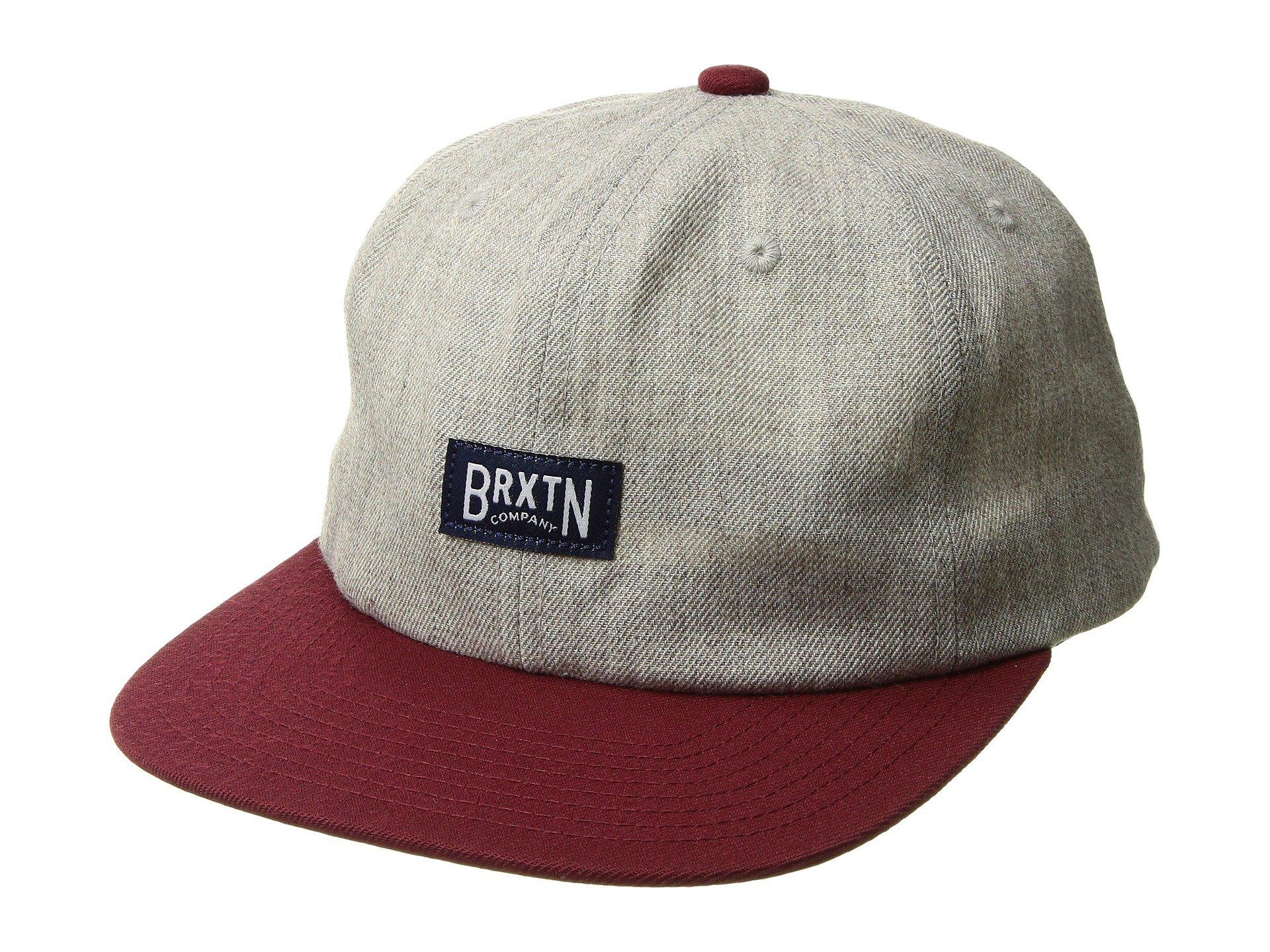e6a4008efd5 Lyst - Brixton Langley Snapback in Gray for Men