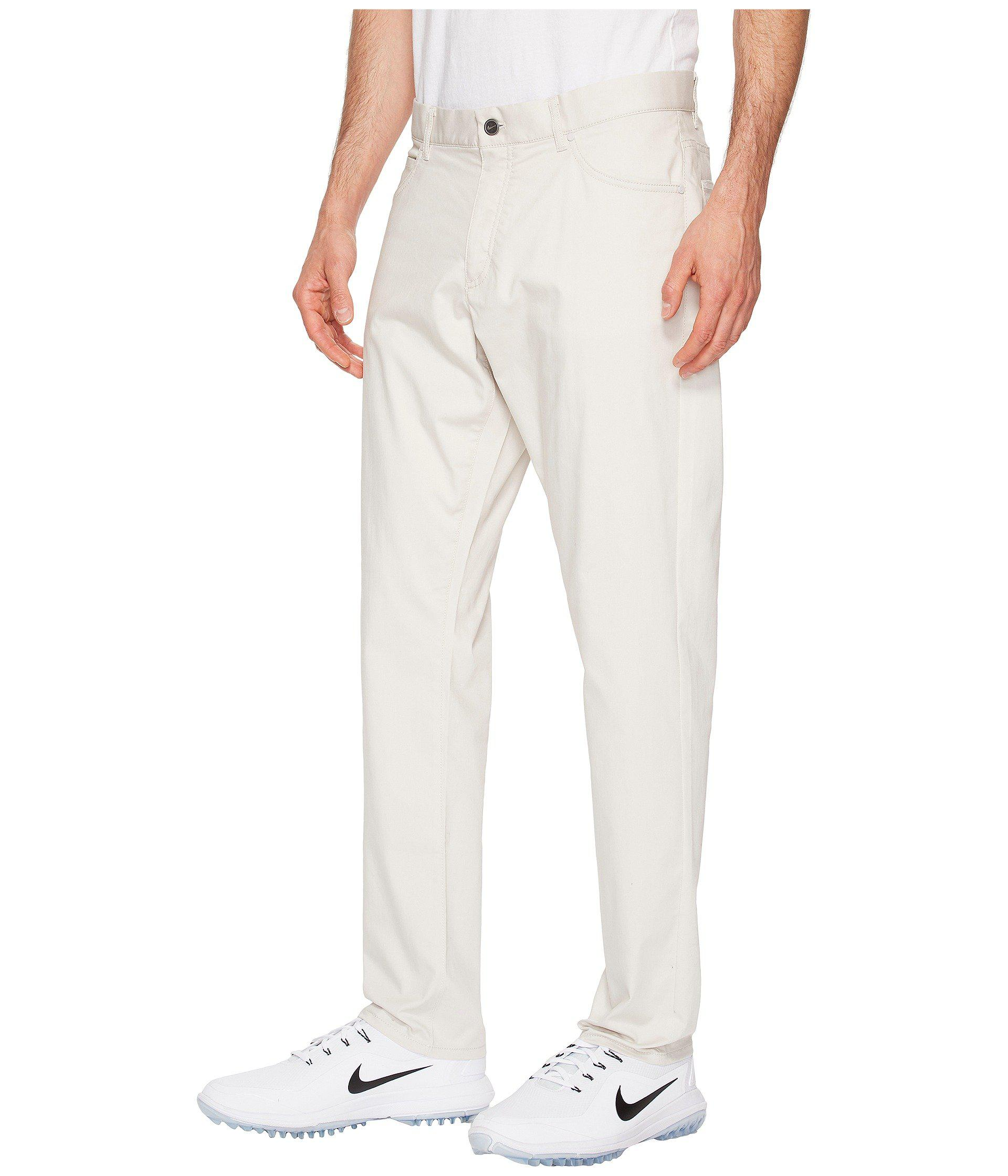 35e3a6b00fc5 Lyst - Nike Flex Five-pocket Pants in White for Men - Save 22%