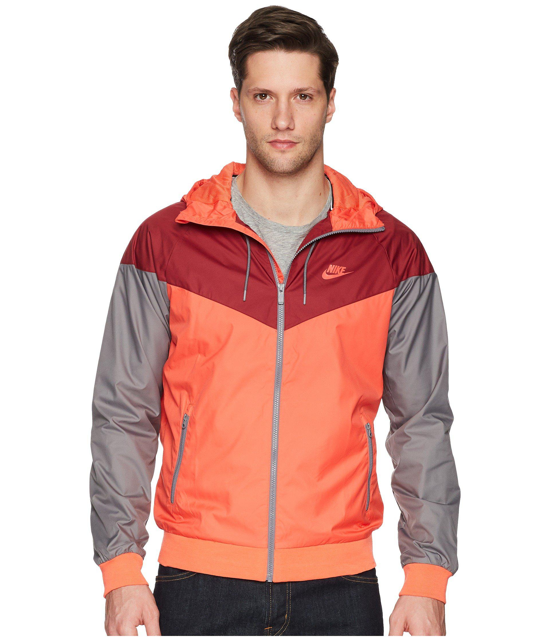 4b14d302382b Lyst - Nike Sportwear Windrunner Jacket in Red for Men - Save 8%