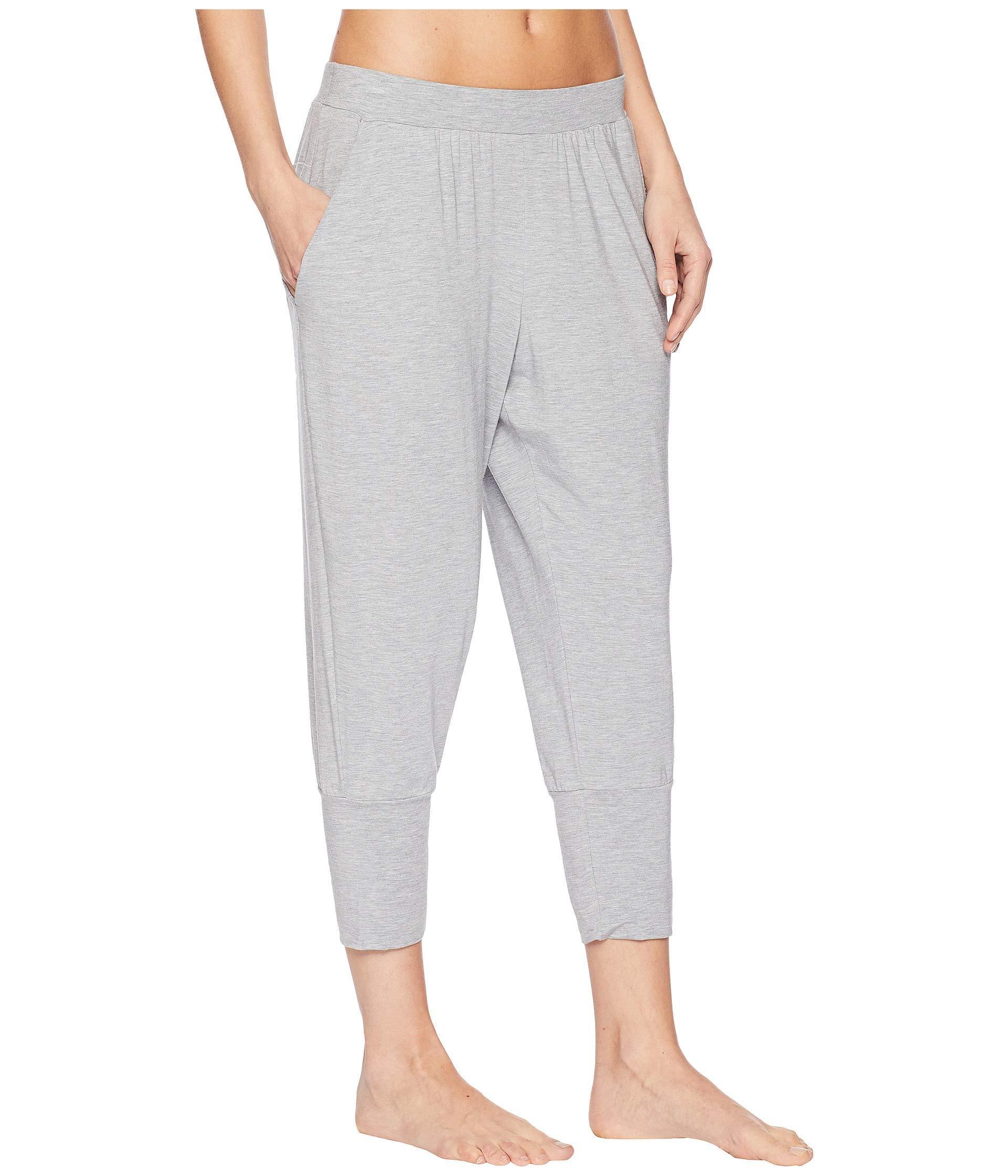 adad7661ff855 Hanro - Gray Yoga Crop Pants - Lyst. View fullscreen