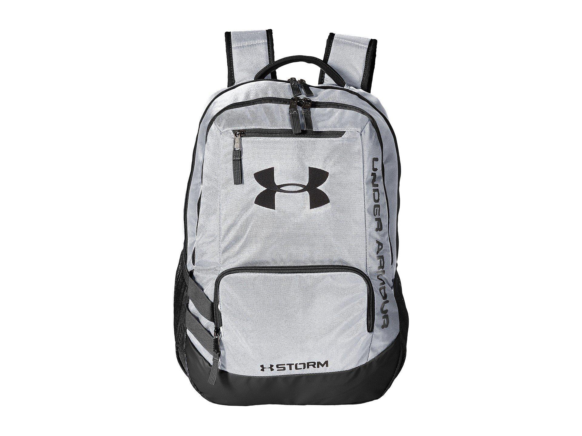 8fa7c027d0 Lyst - Under Armour Ua Team Hustle Backpack in White for Men