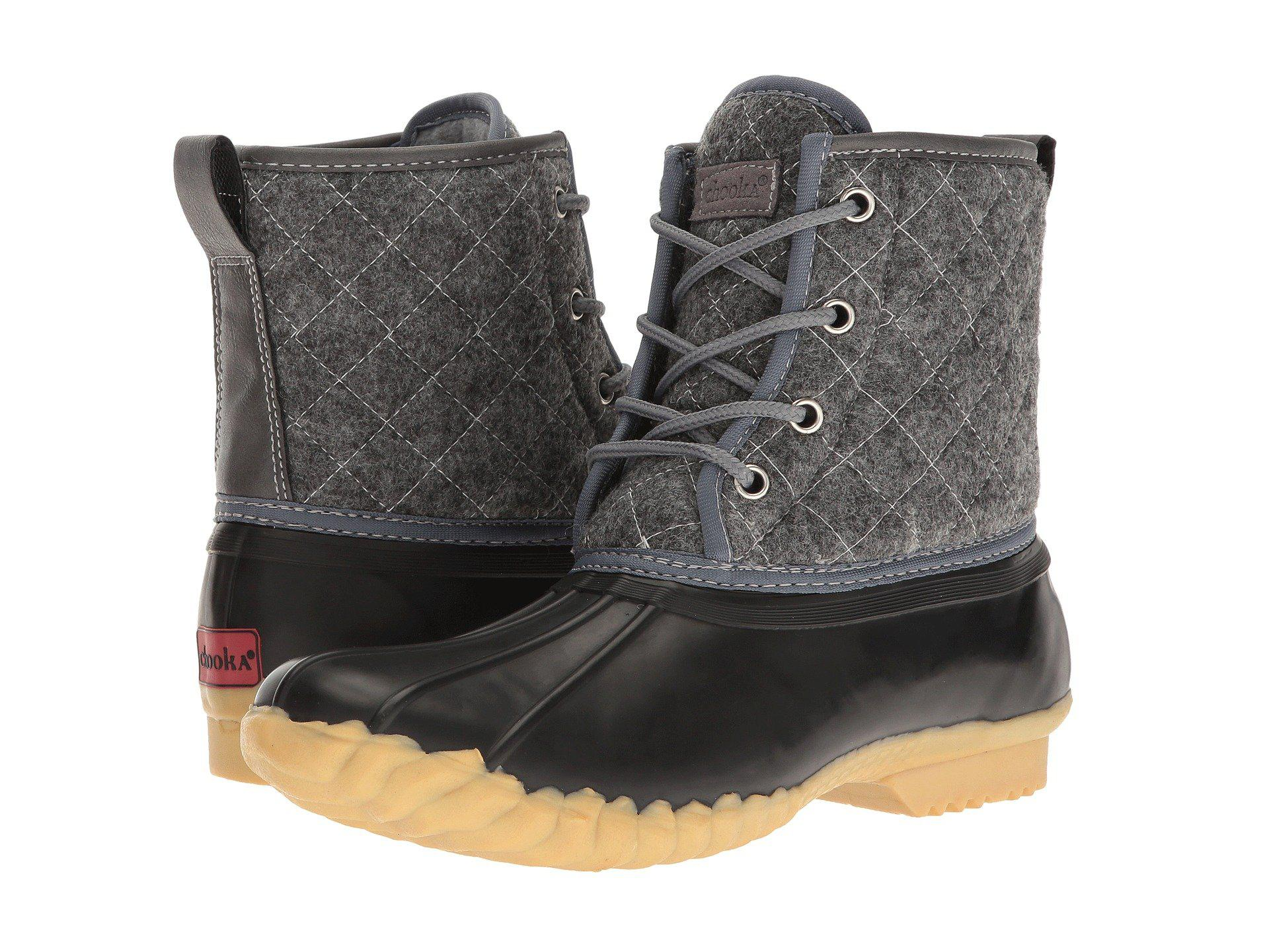 7c6f3d5330c Lyst - Chooka Eastlake Quilted Duck Boot