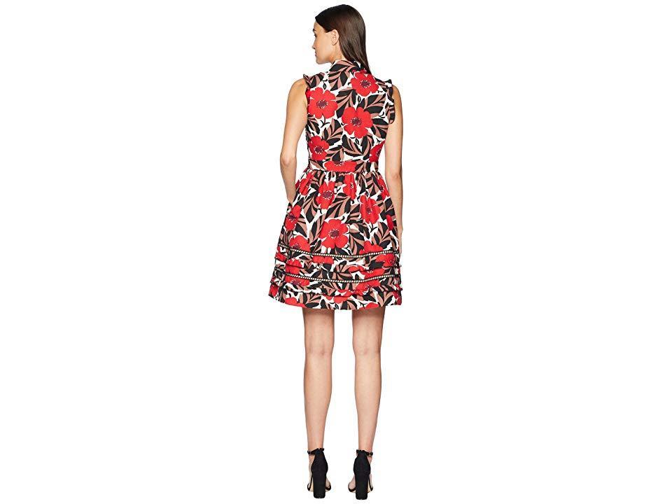 910631ca0d Kate Spade - Red Poppy Field Shirtdress (lingonberry) Dress - Lyst. View  fullscreen
