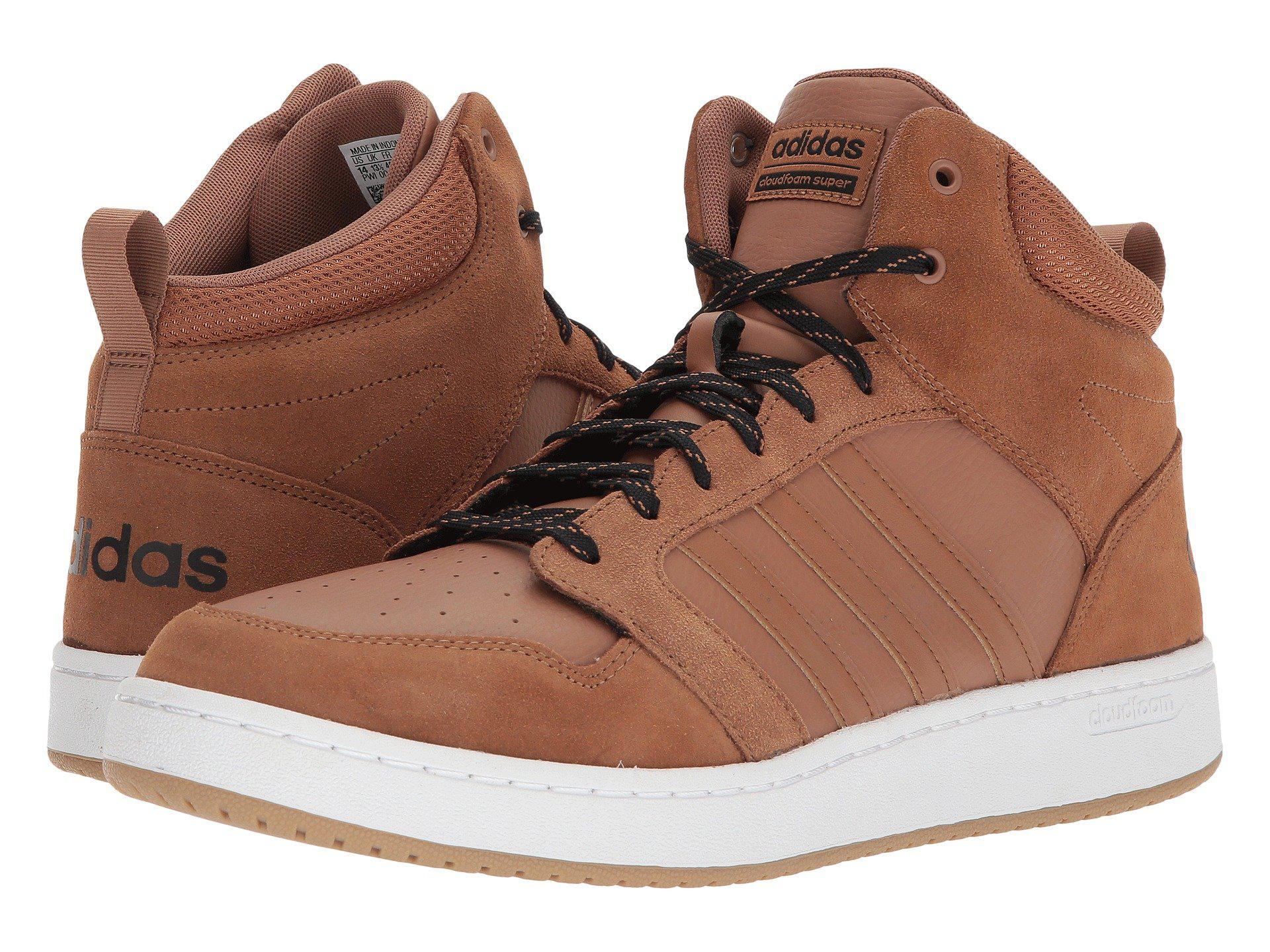 d07927c45ec Lyst - adidas Cloudfoam Super Hoops Mid Basketball Shoe in Brown for Men